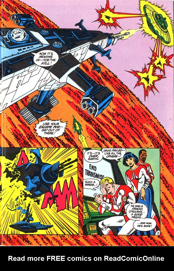 Read online Atari Force (1982) comic -  Issue #4 - 5