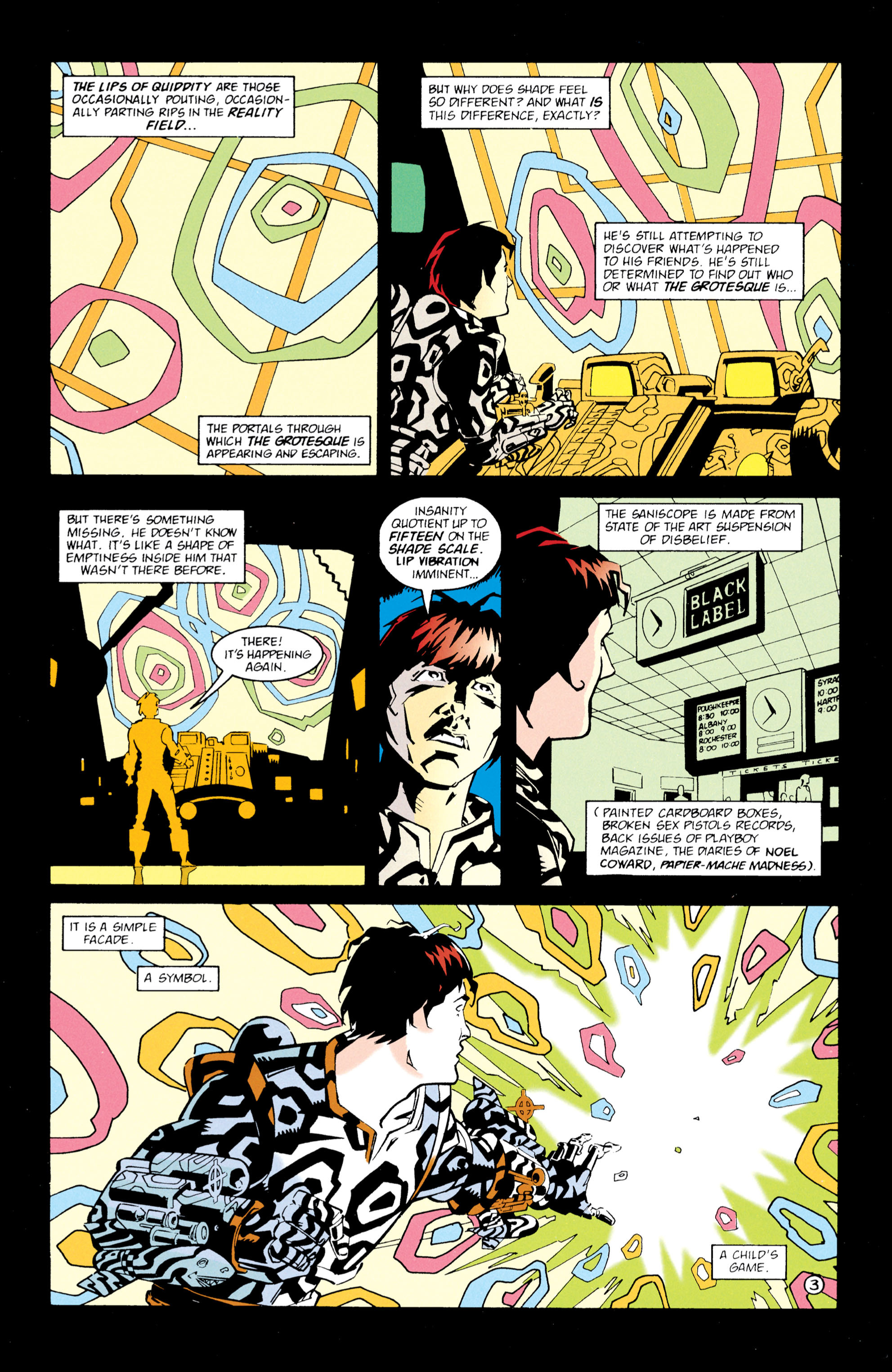 Read online Shade, the Changing Man comic -  Issue #61 - 4