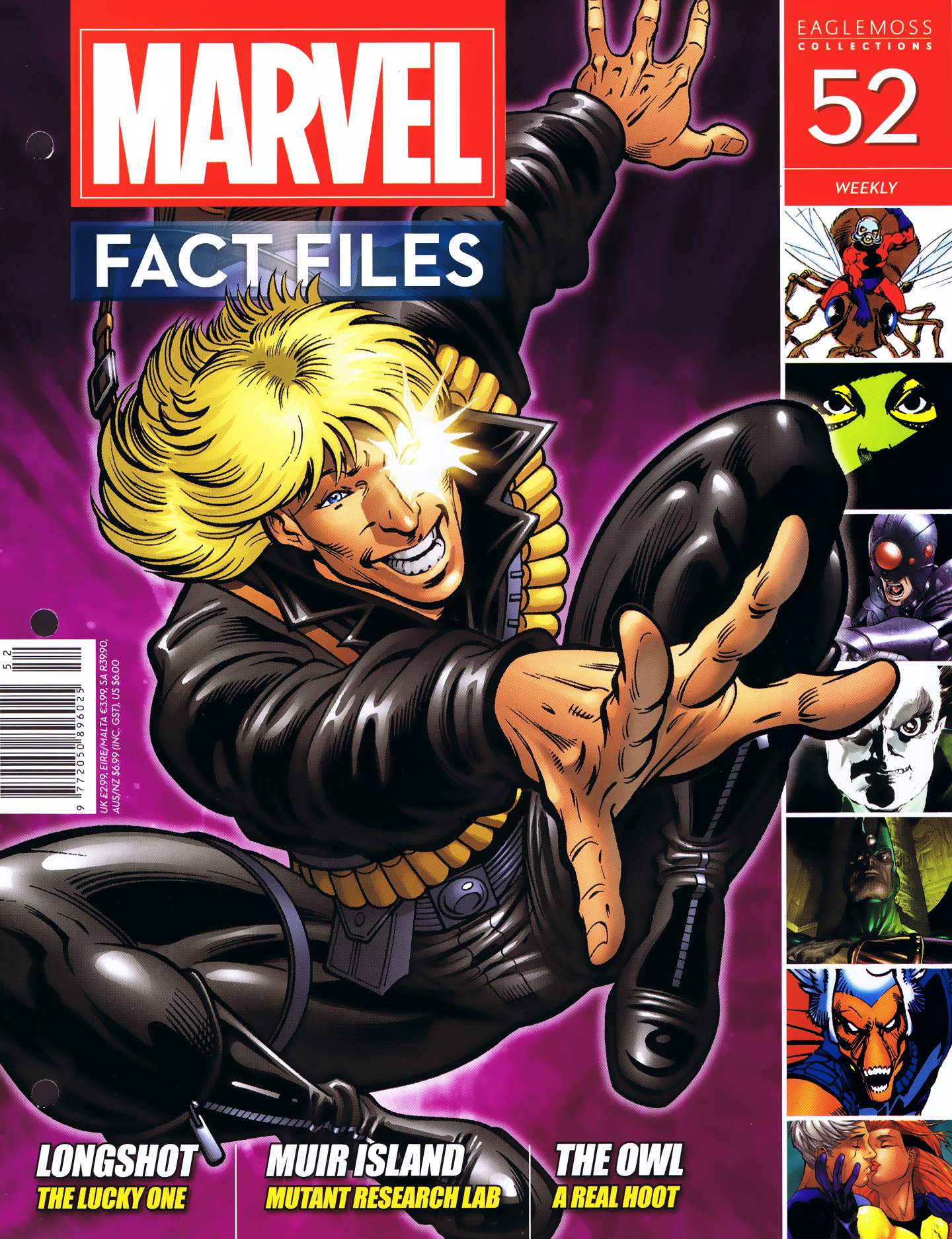Marvel Fact Files 52 Page 1