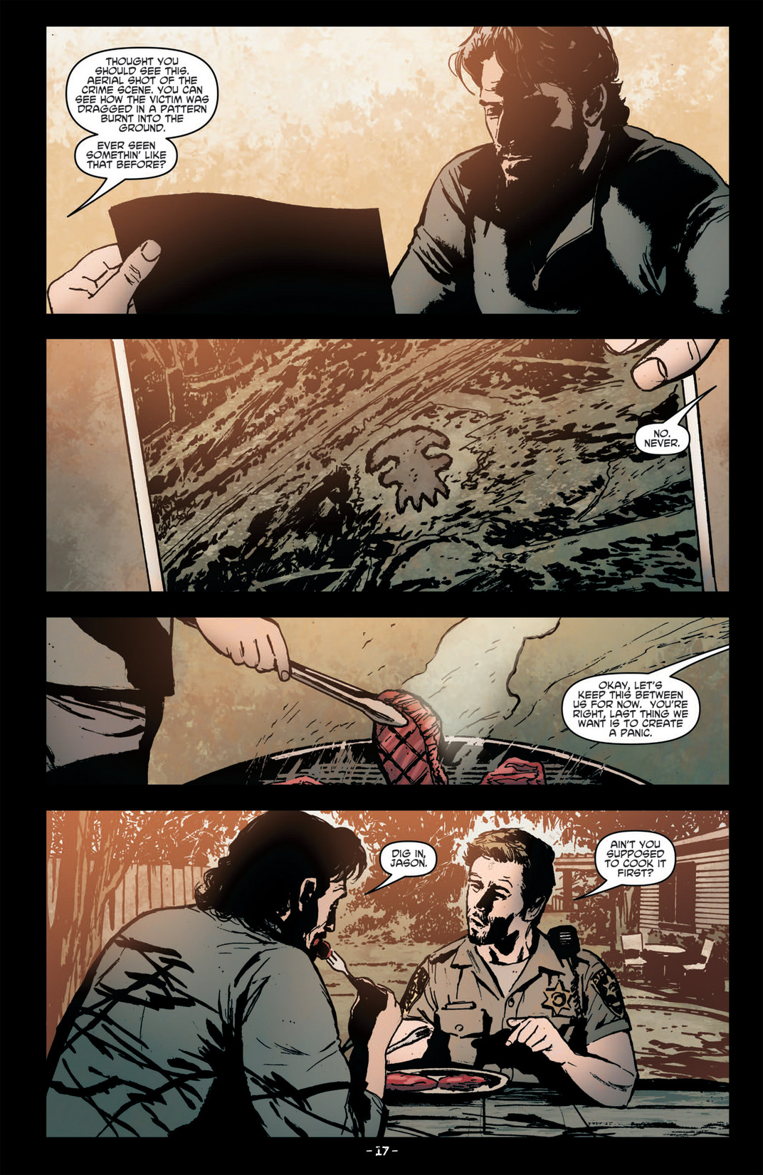 Read online True Blood (2012) comic -  Issue #6 - 19