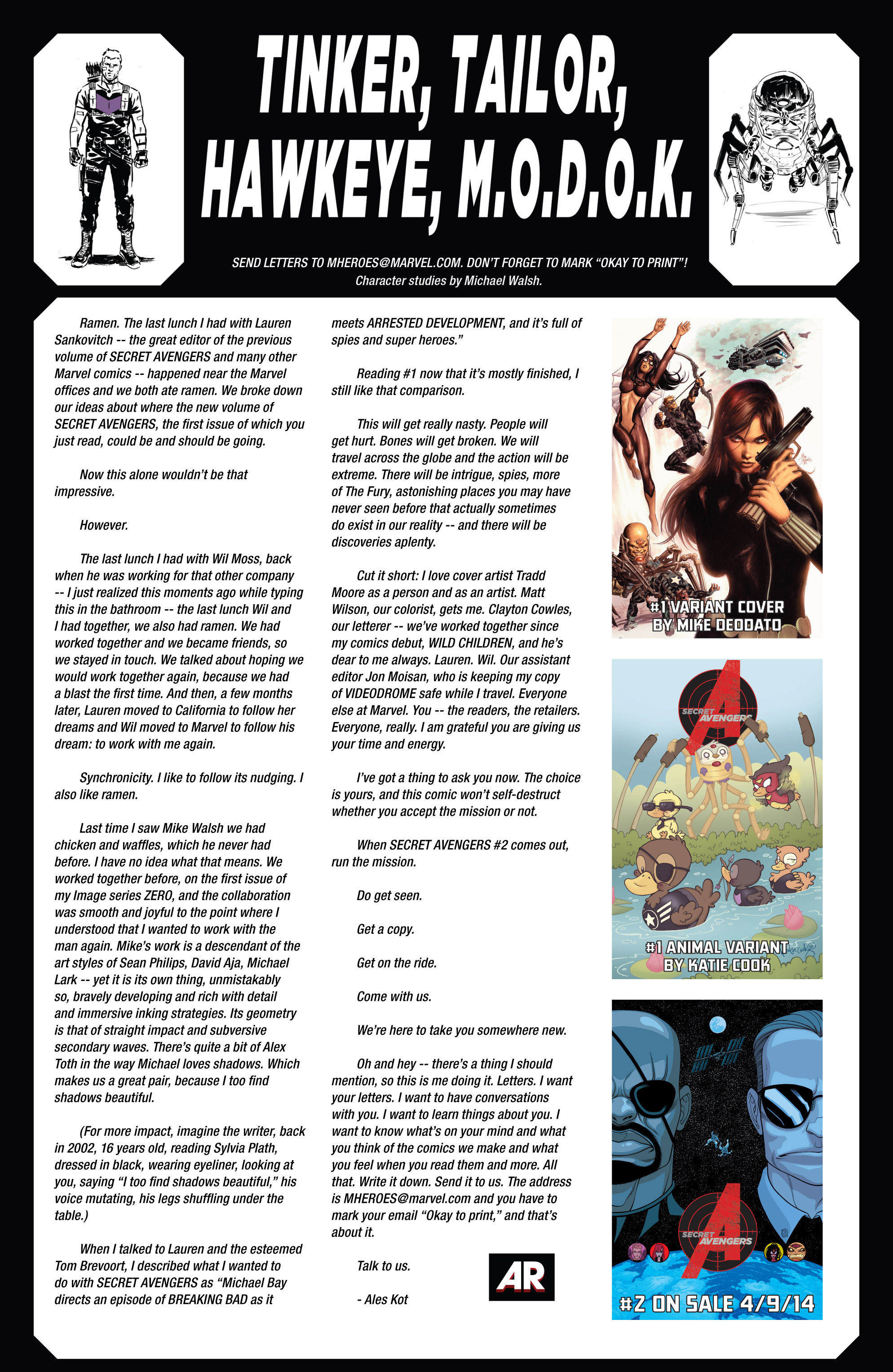 Read online Secret Avengers (2014) comic -  Issue #1 - 23