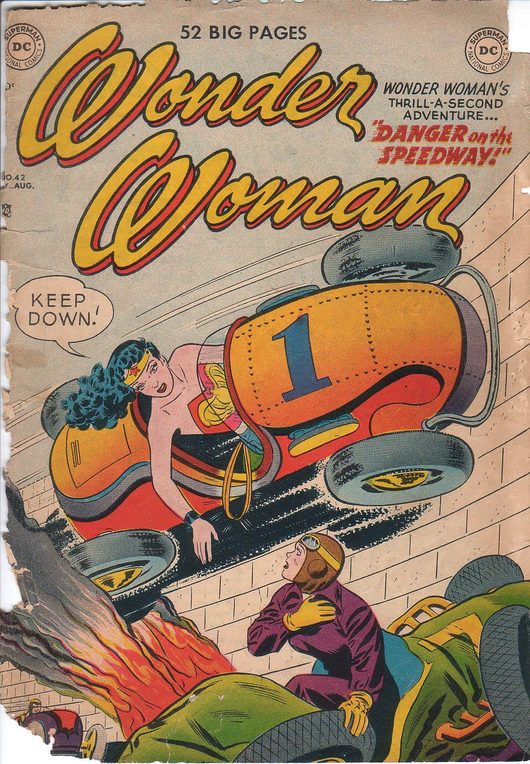 Read online Wonder Woman (1942) comic -  Issue #42 - 1