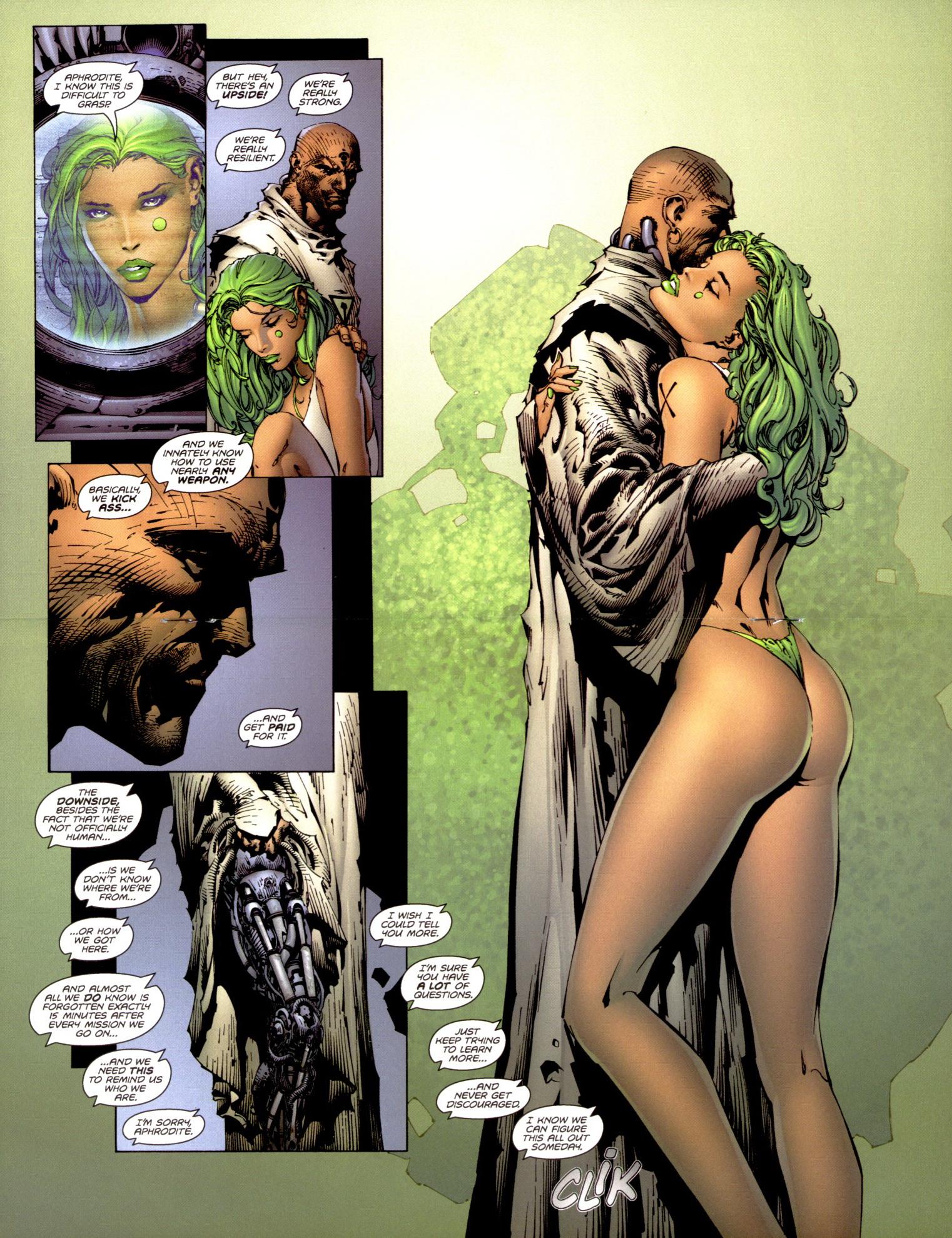 Read online Aphrodite IX (2000) comic -  Issue #1 - 14
