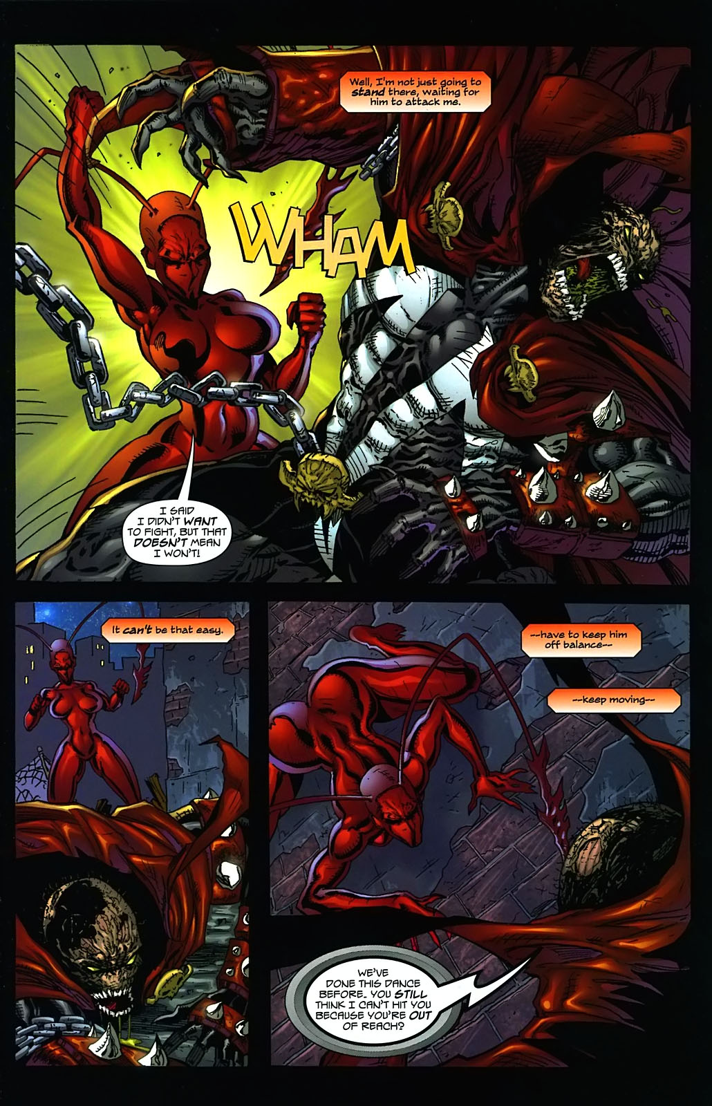 Read online Ant comic -  Issue #3 - 6