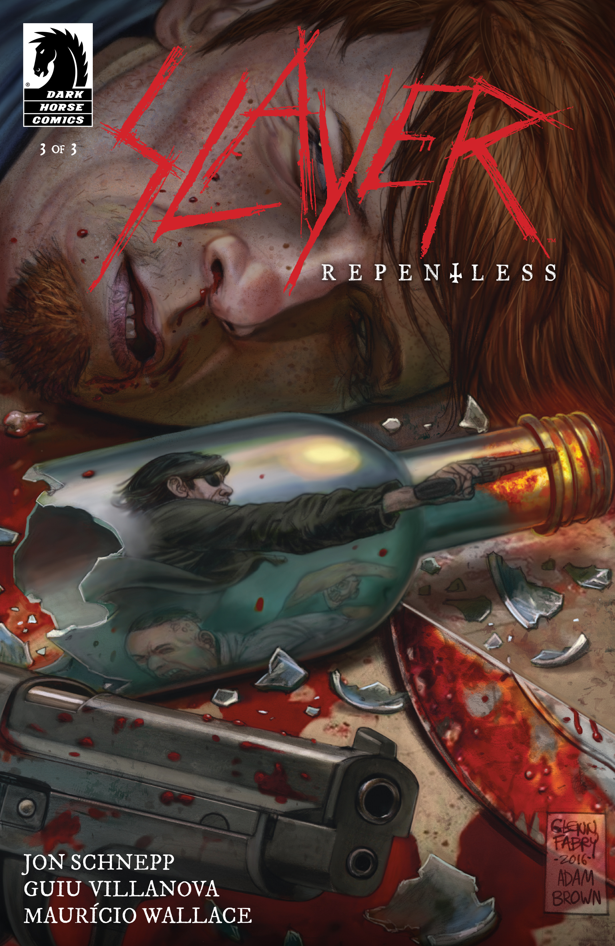 Read online Slayer: Repentless comic -  Issue #3 - 1