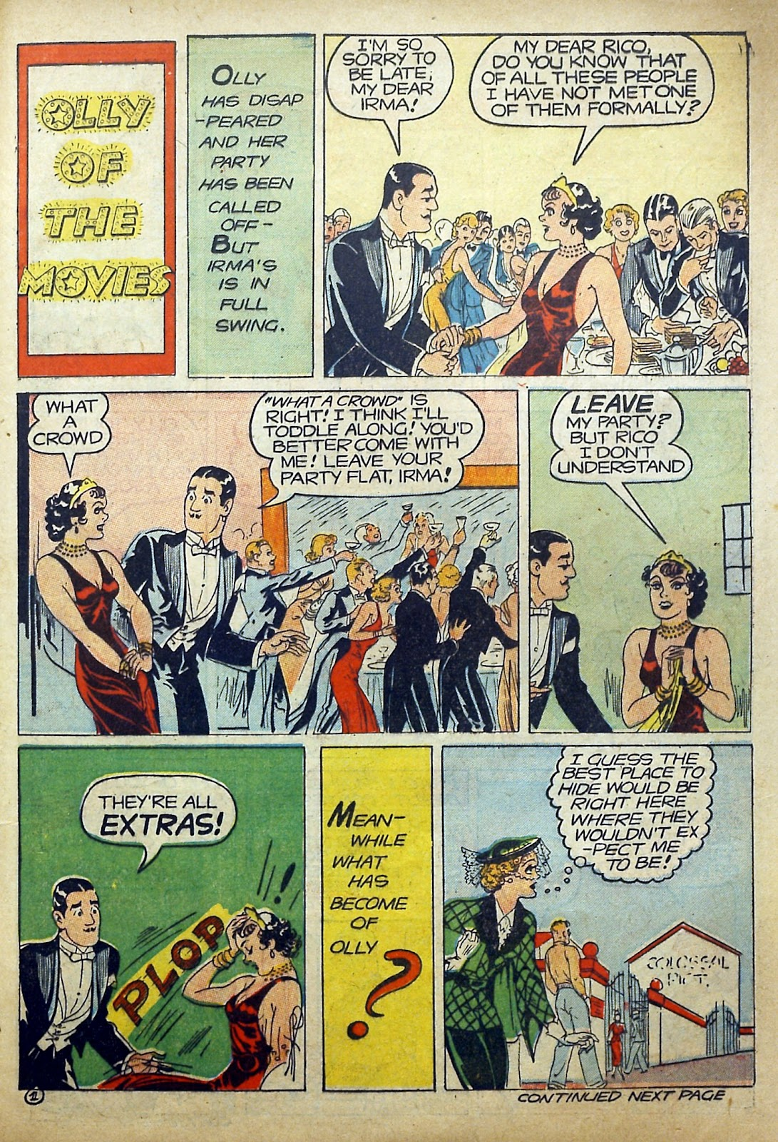 Read online Famous Funnies comic -  Issue #97 - 56