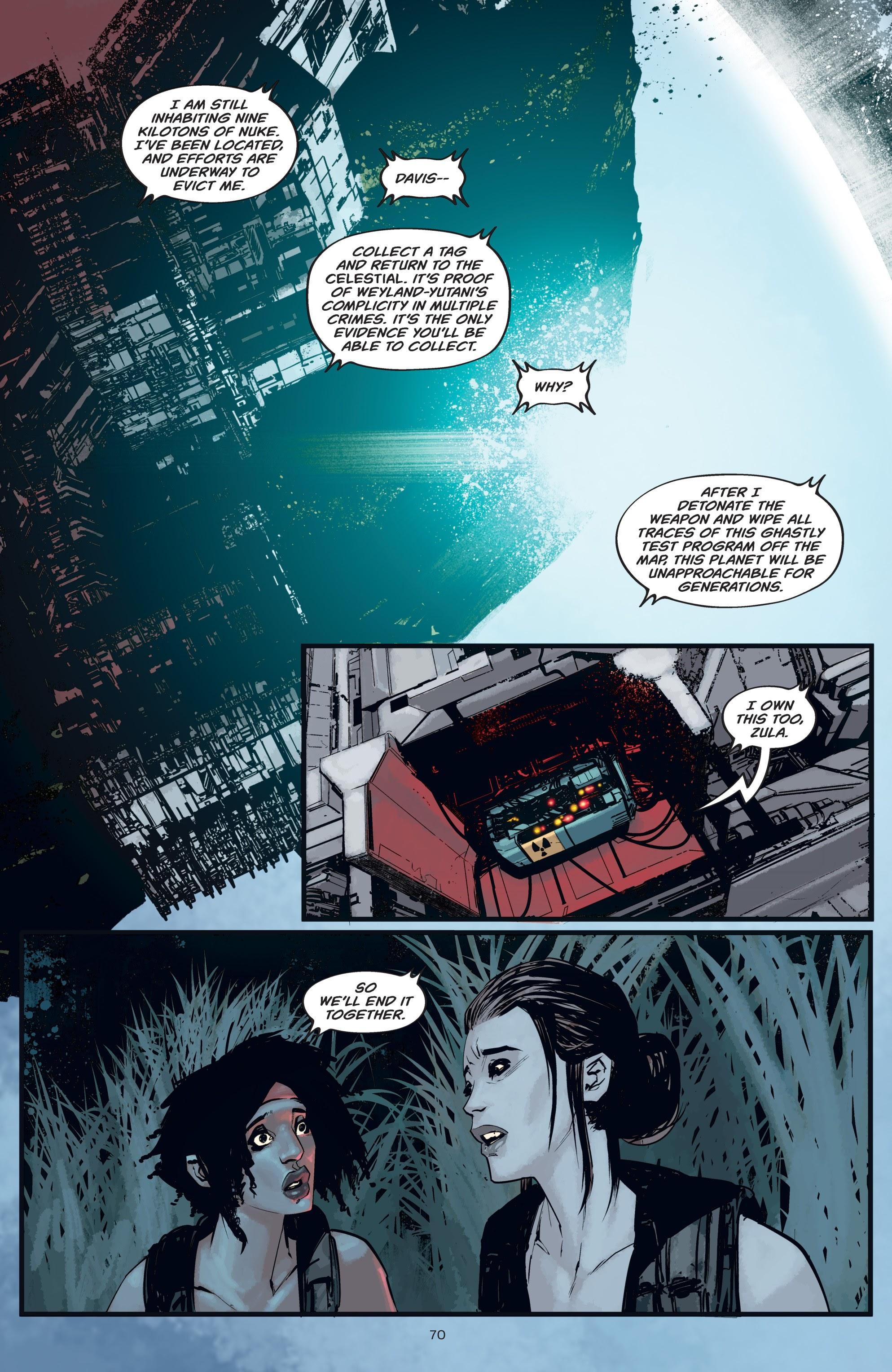 Read online Aliens: Resistance comic -  Issue # _TPB - 70