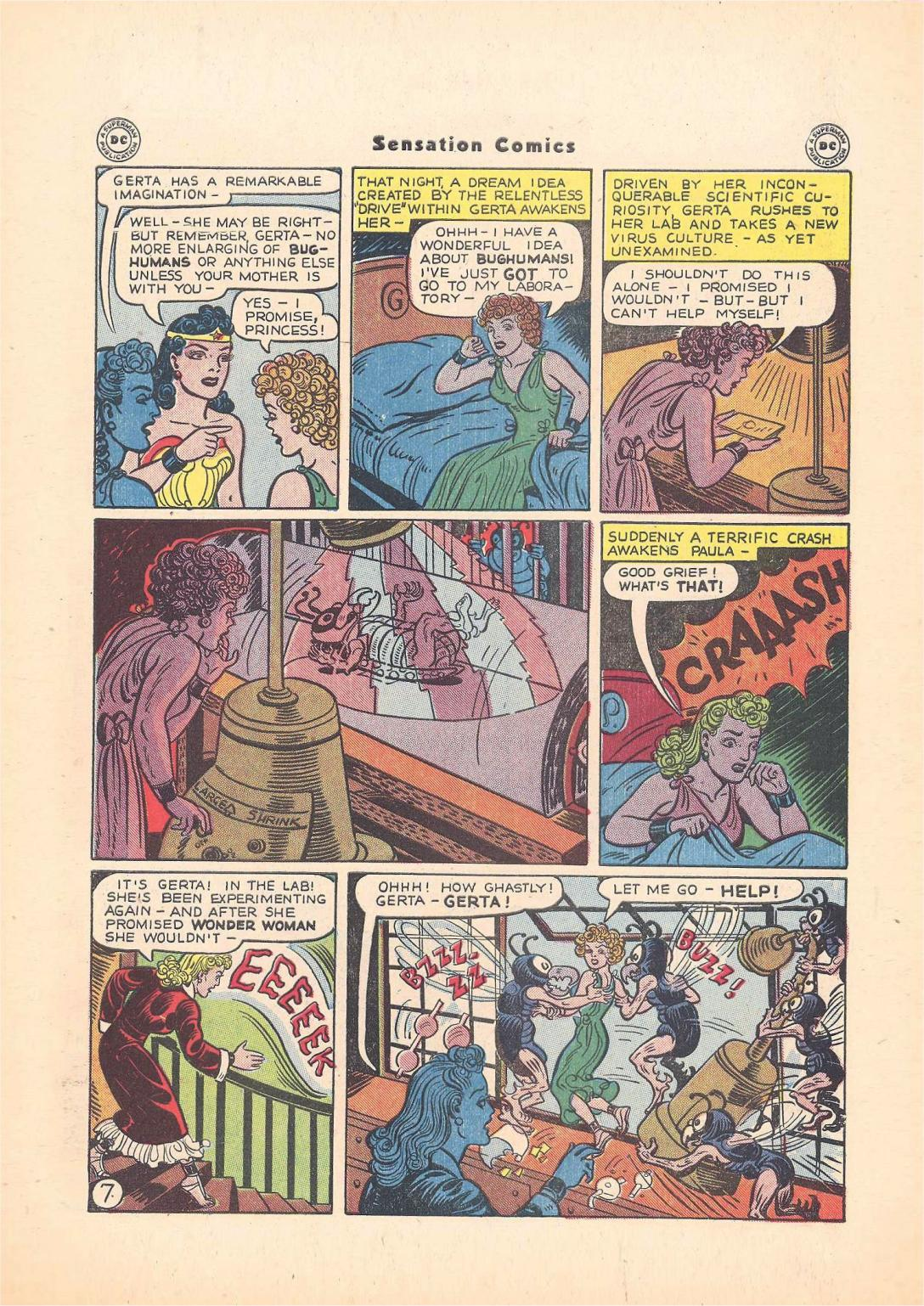 Read online Sensation (Mystery) Comics comic -  Issue #55 - 9