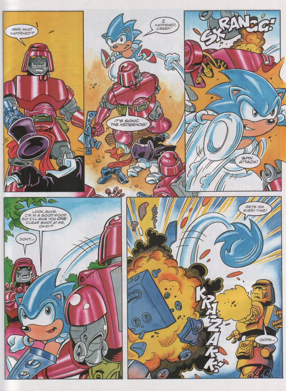 Read online Sonic the Comic comic -  Issue #55 - 6