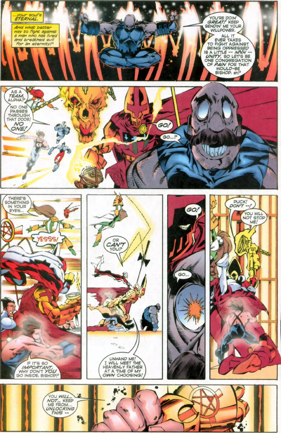 Read online Alpha Flight (1997) comic -  Issue #16 - 21