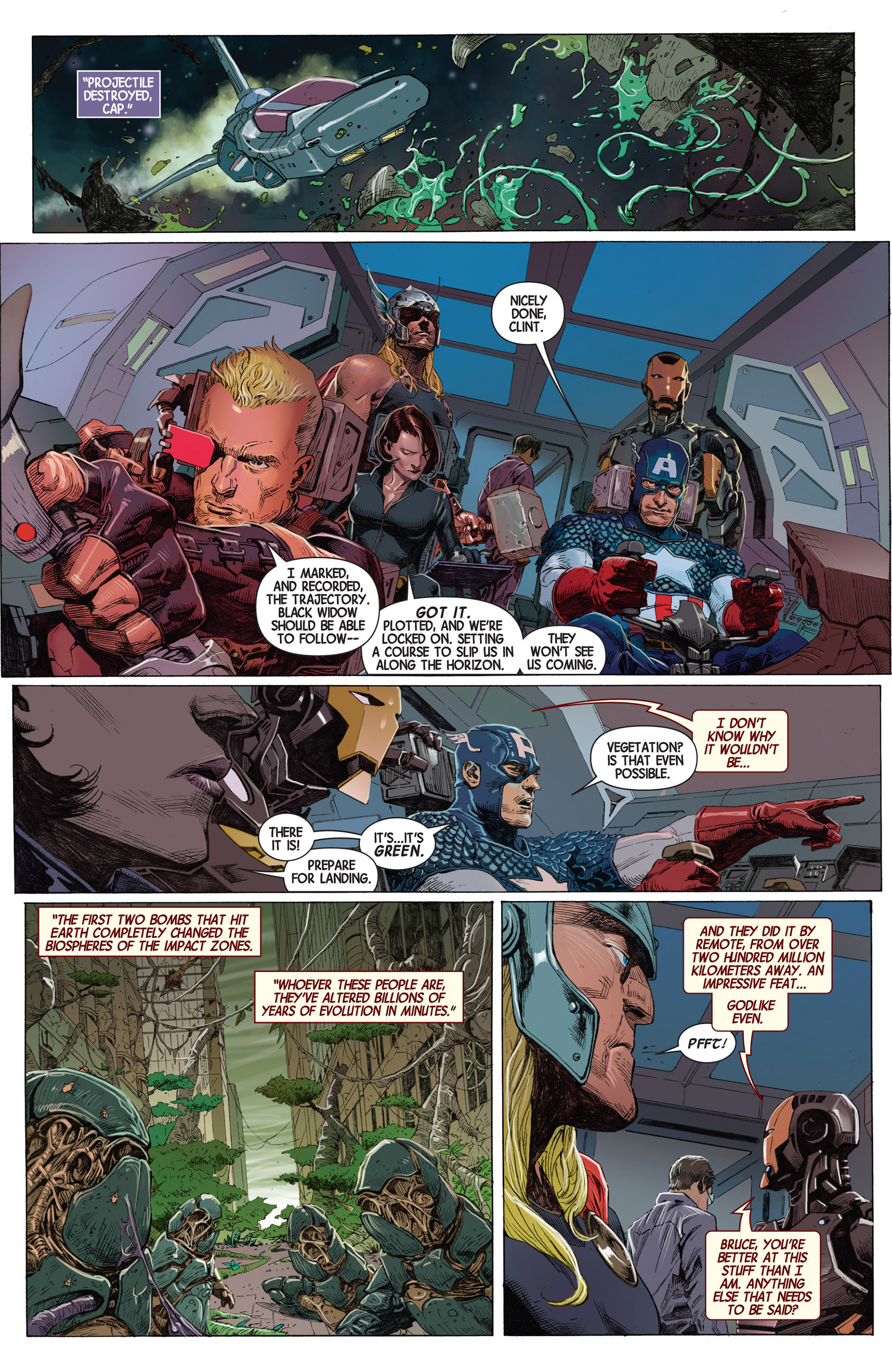 Read online Avengers (2013) comic -  Issue #1 - 13