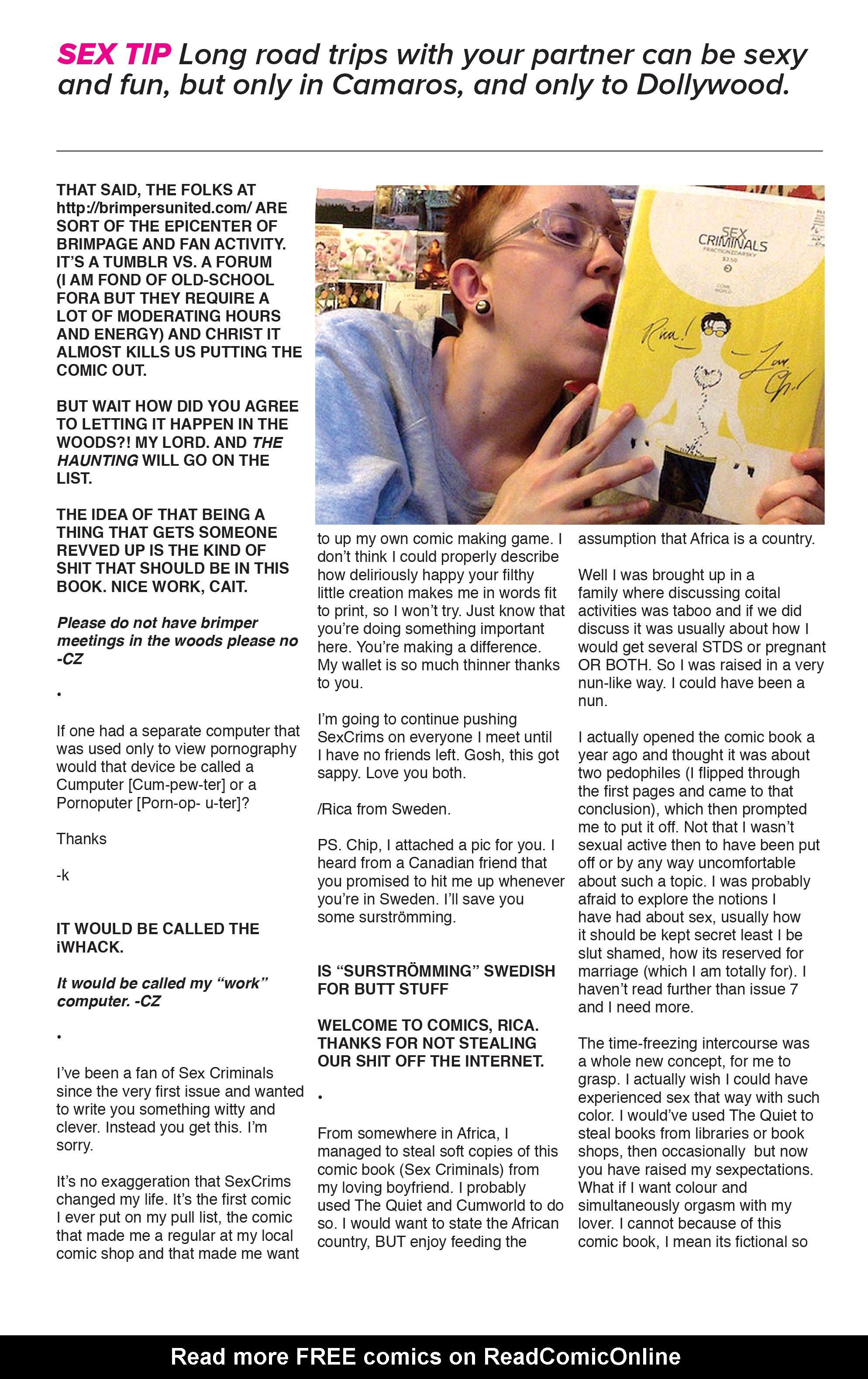 Read online Sex Criminals comic -  Issue #16 - 37