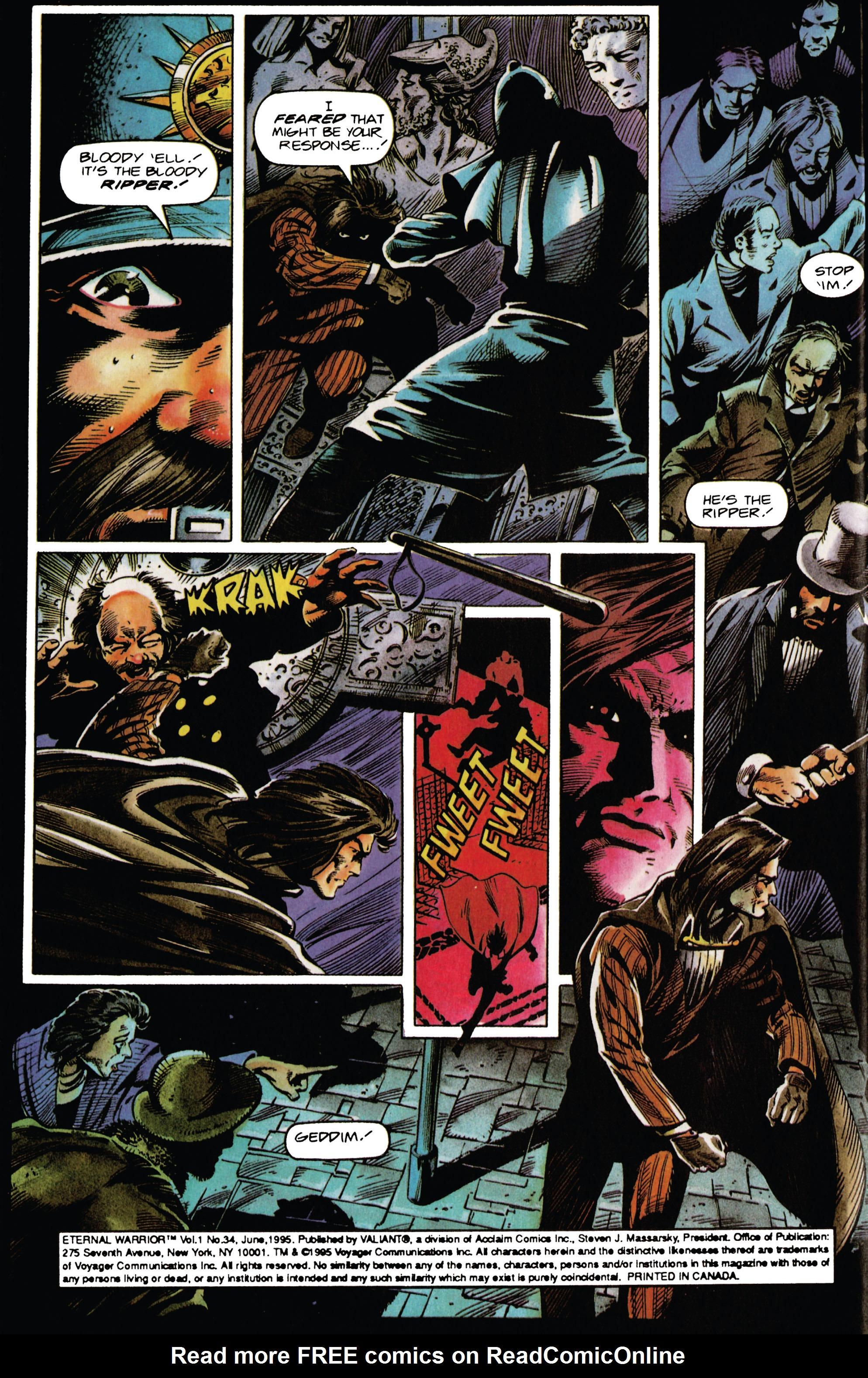 Read online Eternal Warrior (1992) comic -  Issue #34 - 3