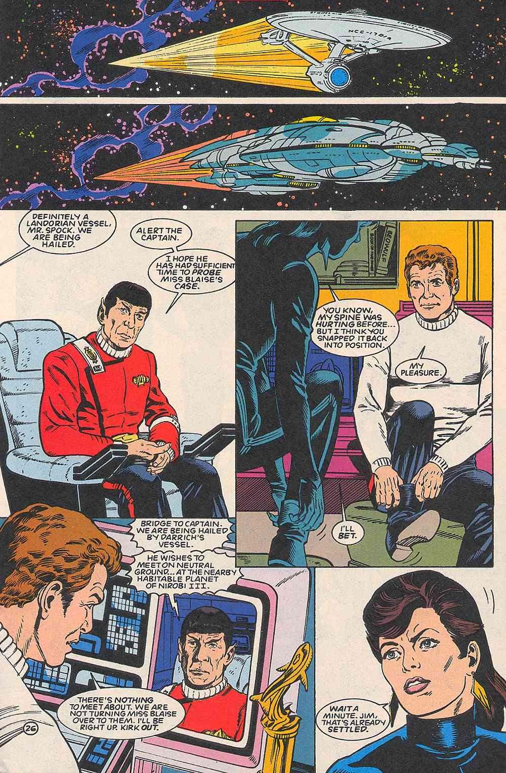 Read online Star Trek (1989) comic -  Issue # _Special 1 - 31