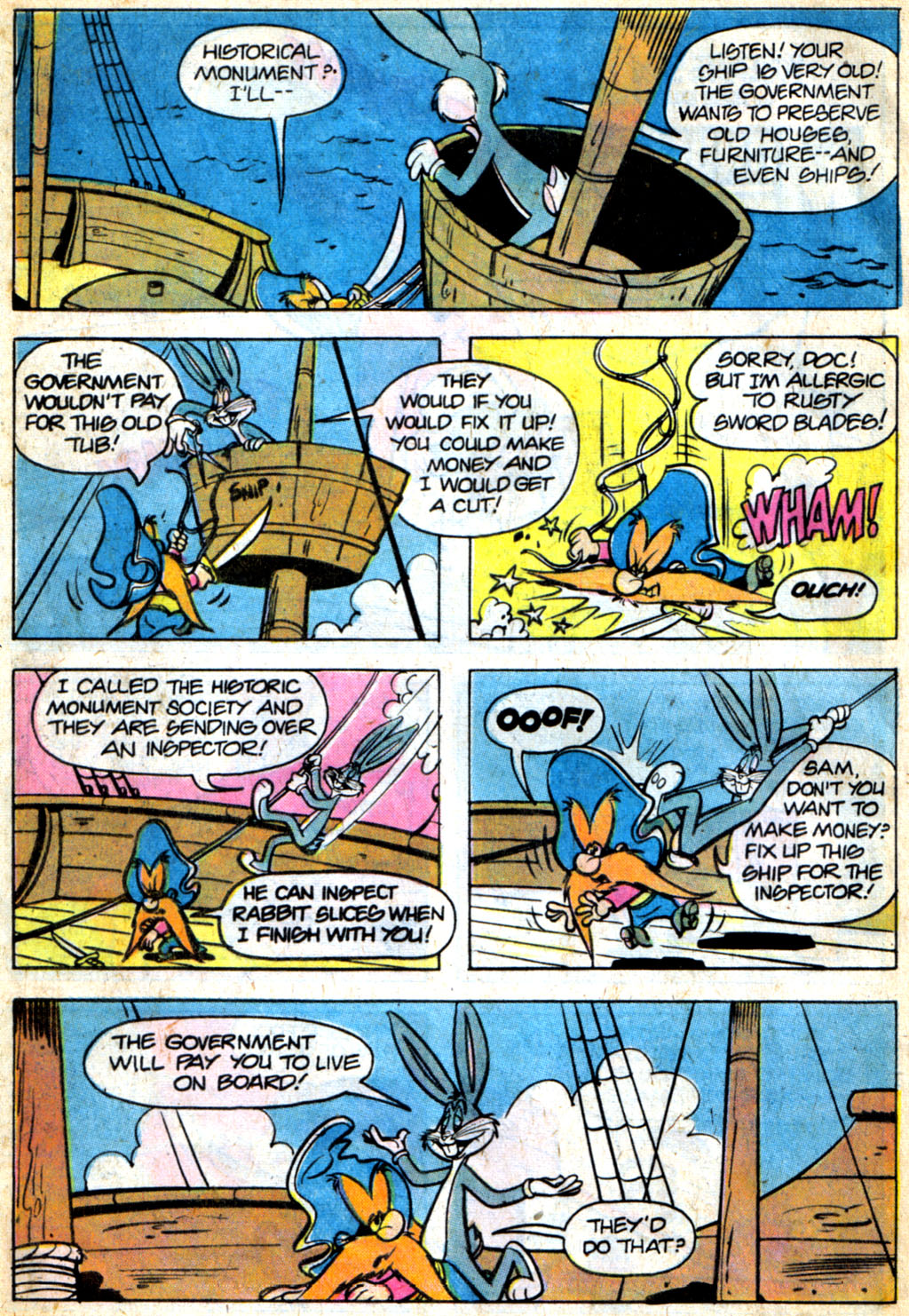 Yosemite Sam and Bugs Bunny issue 44 - Page 21