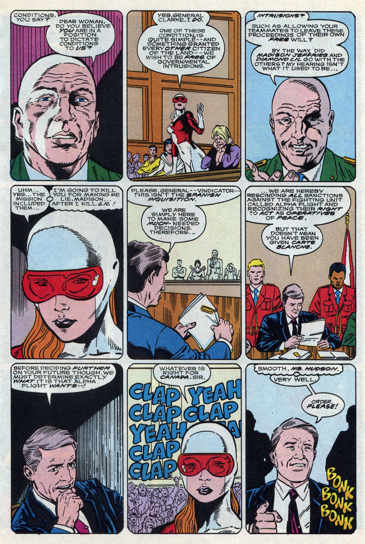 Read online Alpha Flight (1983) comic -  Issue #87 - 17
