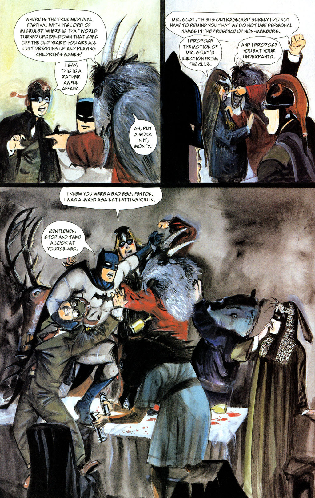 Read online Batman: The Order of Beasts comic -  Issue # Full - 30