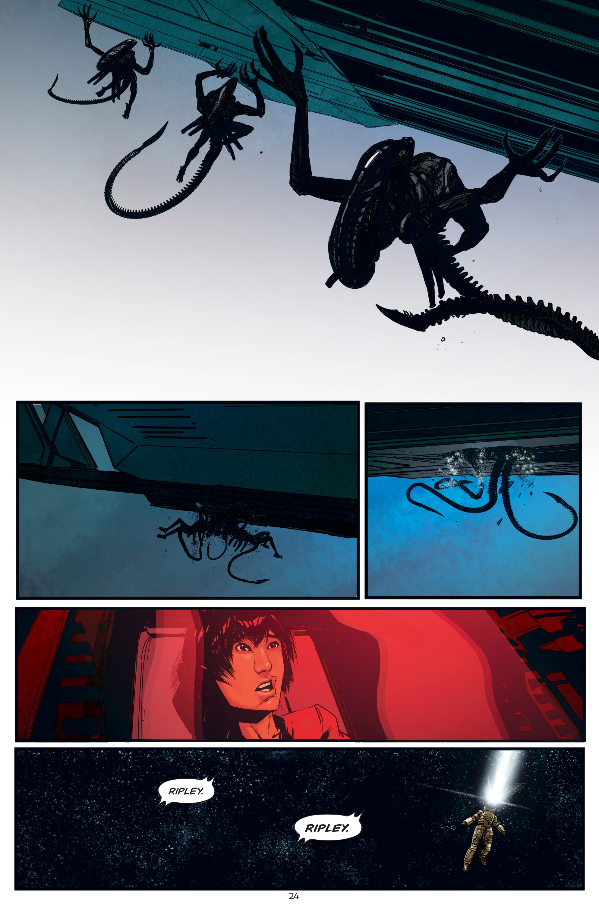Read online Aliens: Resistance comic -  Issue # _TPB - 24