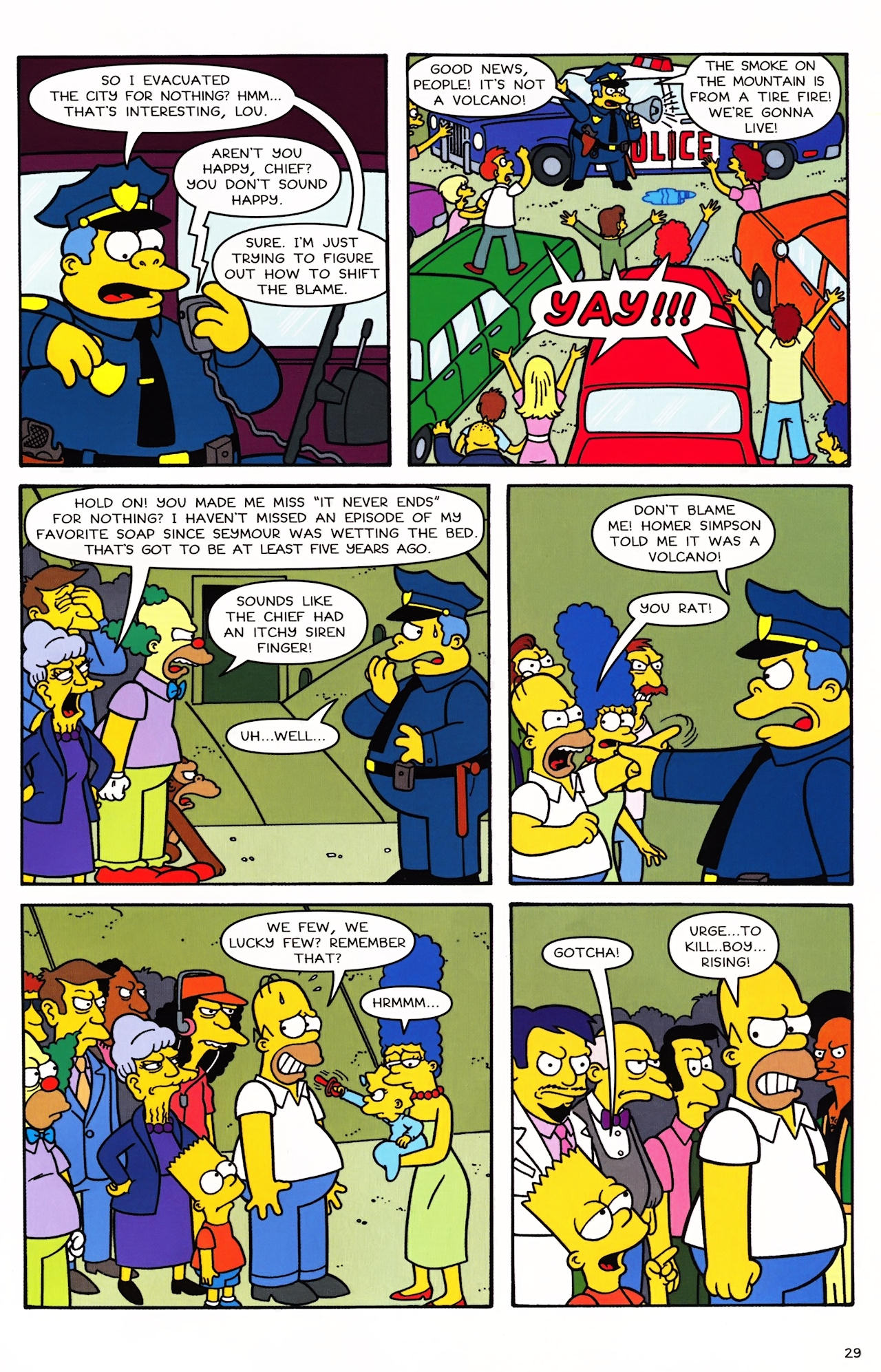 Read online Simpsons Comics comic -  Issue #152 - 24