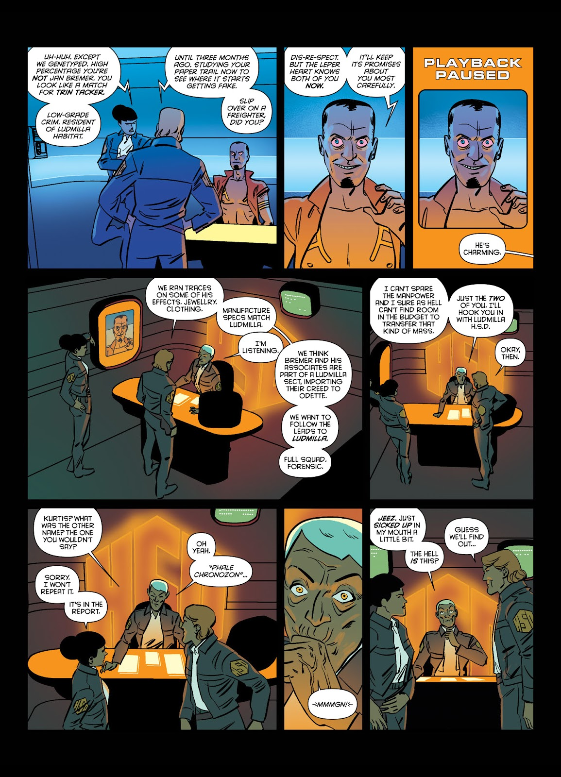 Read online Brink comic -  Issue # TPB 1 - 15