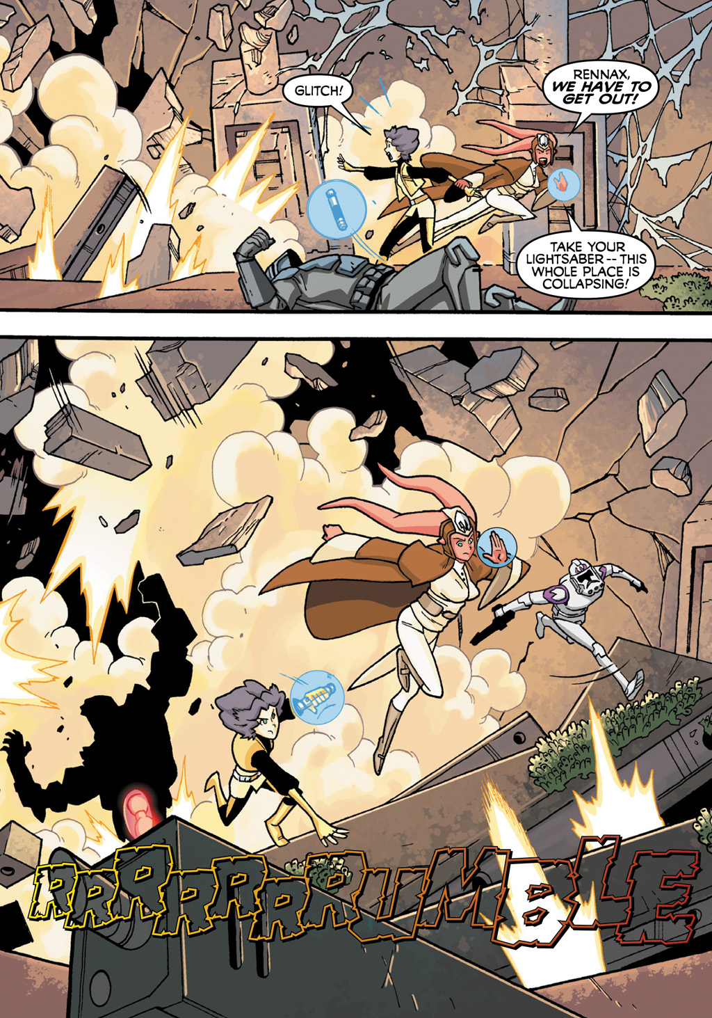 Read online Star Wars: The Clone Wars - Defenders of the Lost Temple comic -  Issue # Full - 66