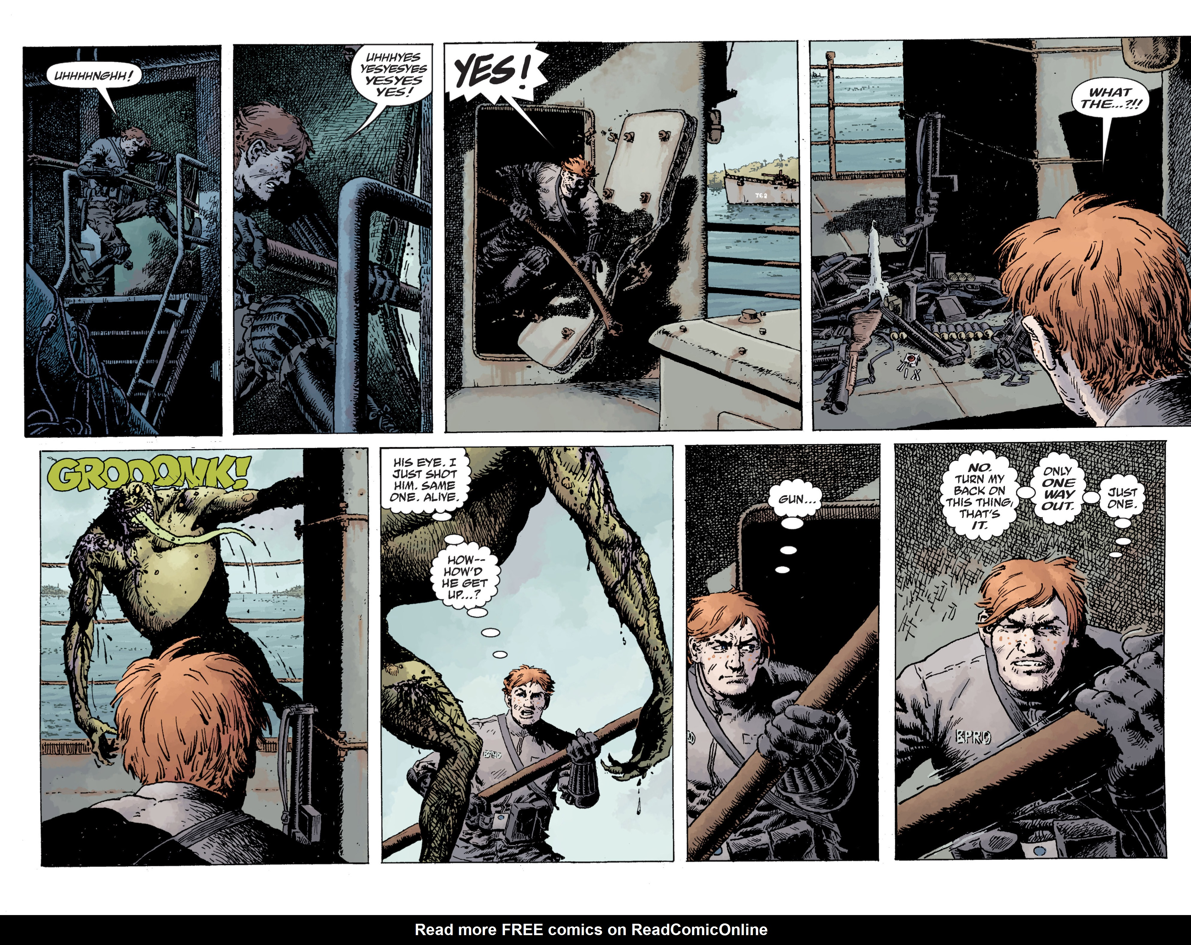 Read online B.P.R.D. (2003) comic -  Issue # TPB 12 - 79