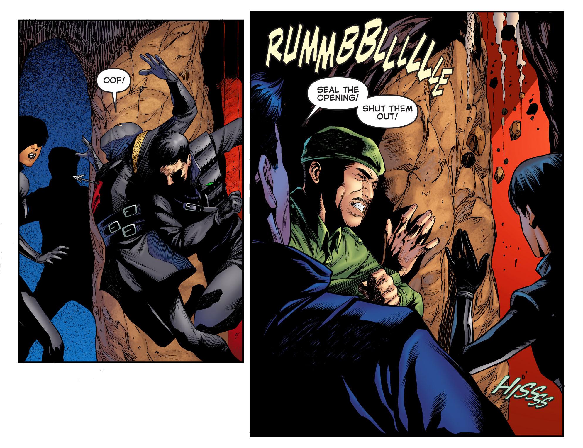 Read online Arrow: The Dark Archer comic -  Issue #3 - 5