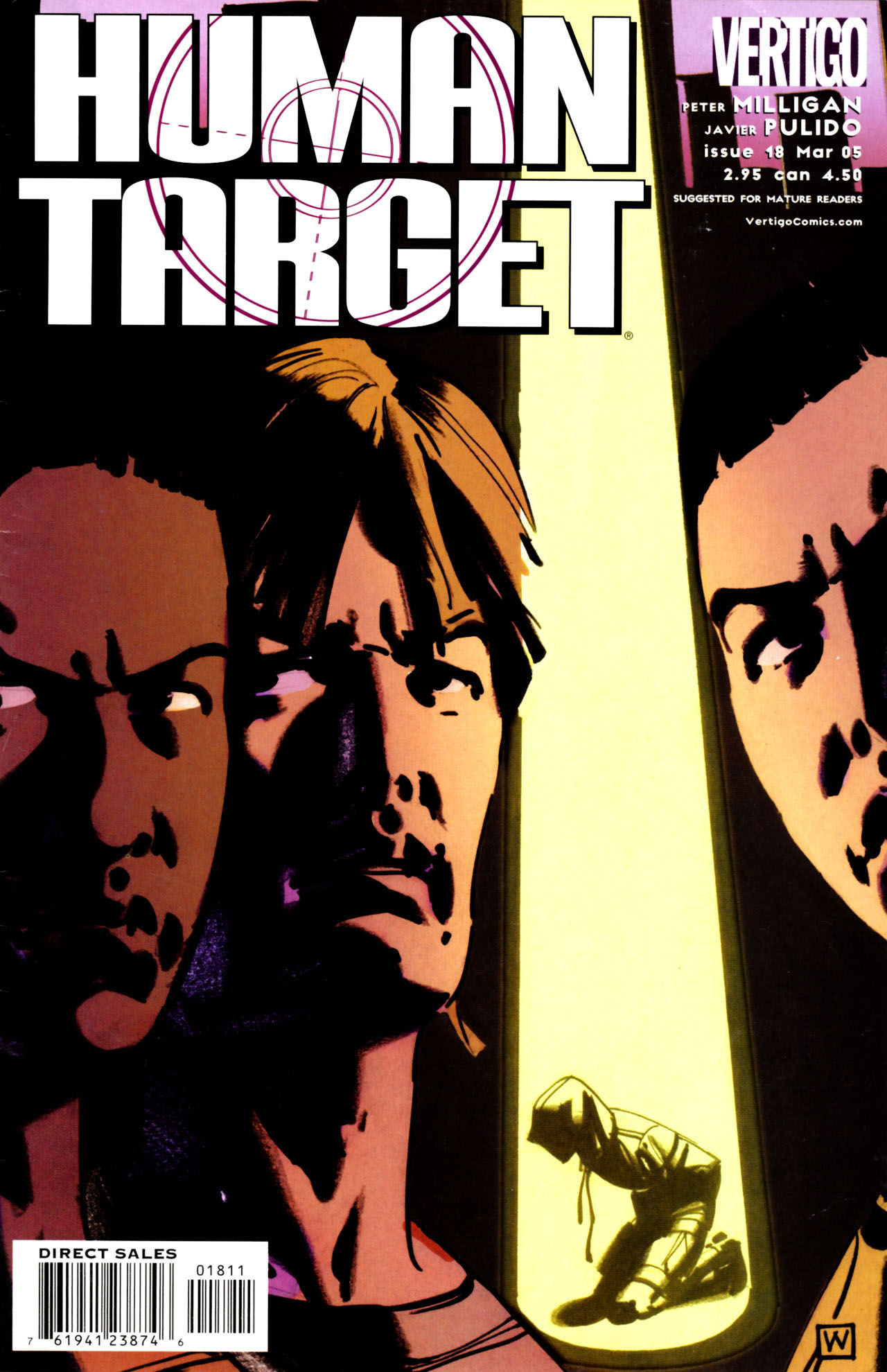Human Target (2003) issue 18 - Page 1
