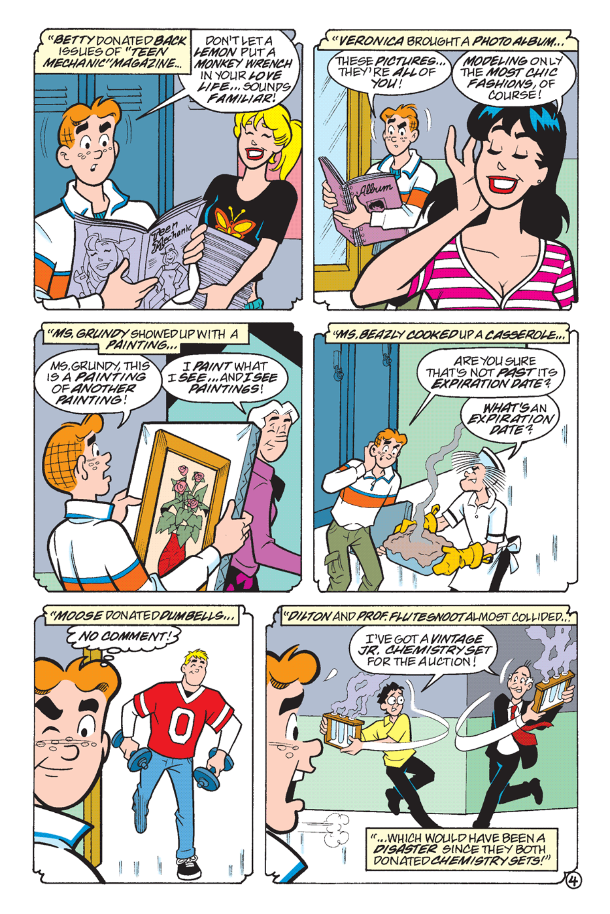 Read online Archie's Weird Mysteries comic -  Issue #24 - 23