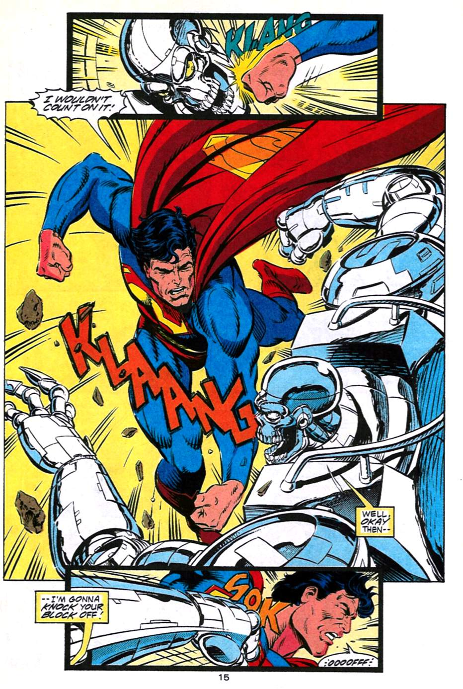 Read online Adventures of Superman (1987) comic -  Issue #491 - 16