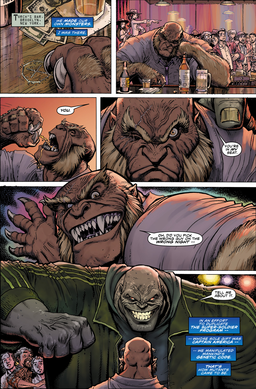 Read online Ultimate X comic -  Issue #5 - 11