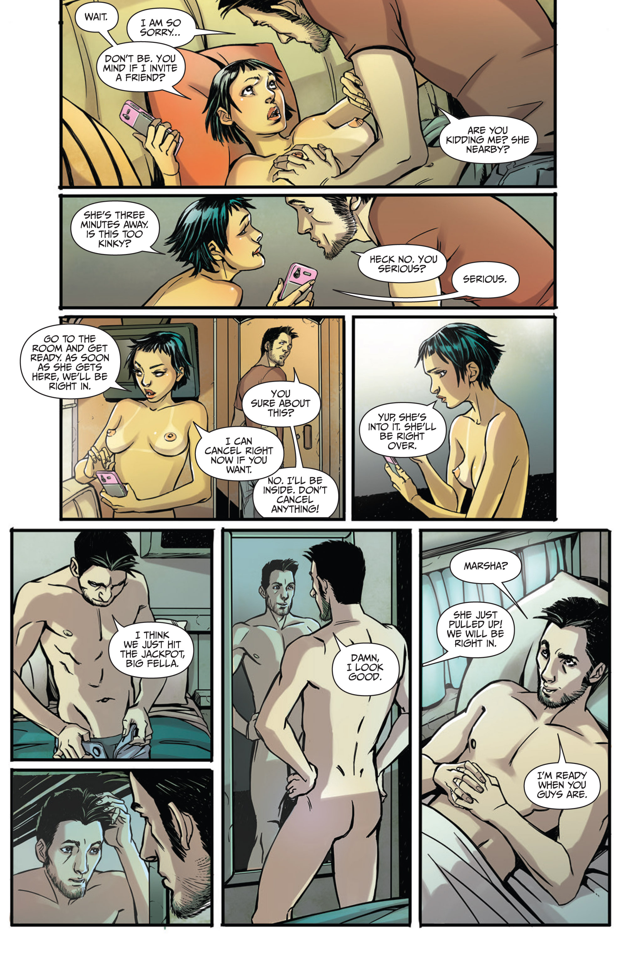 Read online Sex and Violence Vol. 2 comic -  Issue # Full - 11