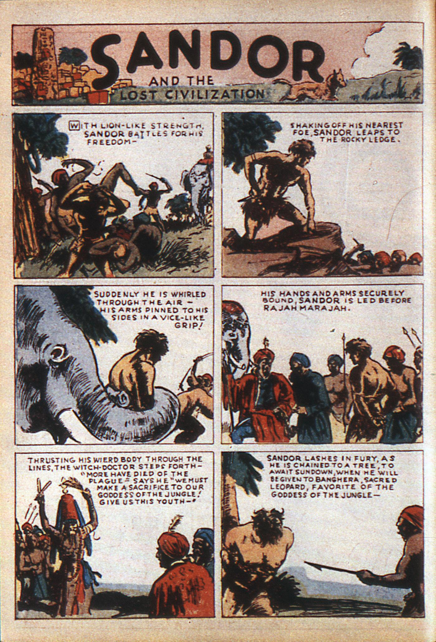 Read online Adventure Comics (1938) comic -  Issue #6 - 19