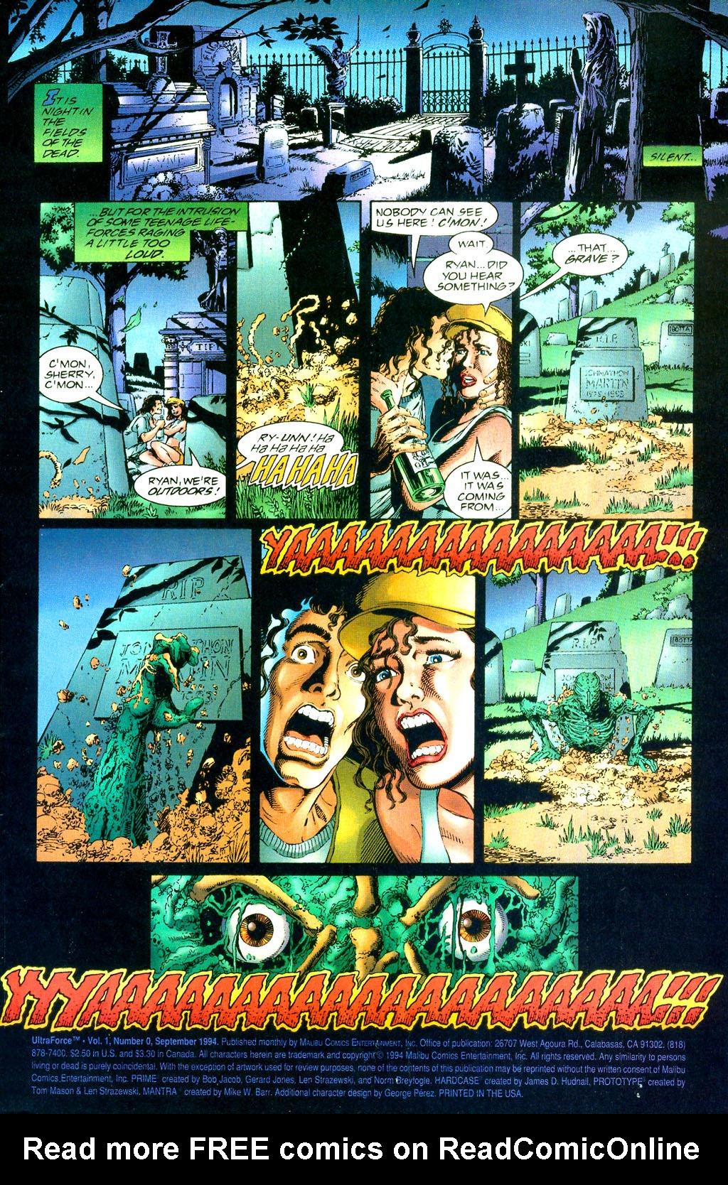 Read online UltraForce (1994) comic -  Issue #0 - 3