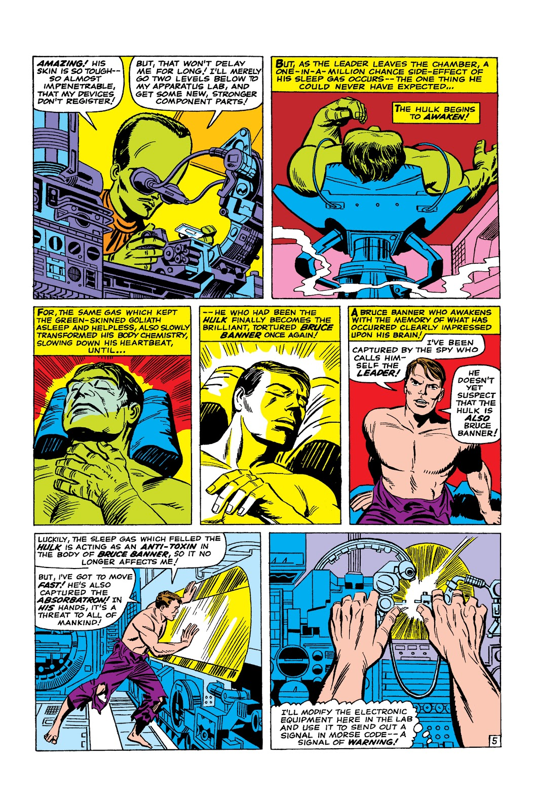 Read online Marvel Masterworks: The Incredible Hulk comic -  Issue # TPB 2 (Part 2) - 28