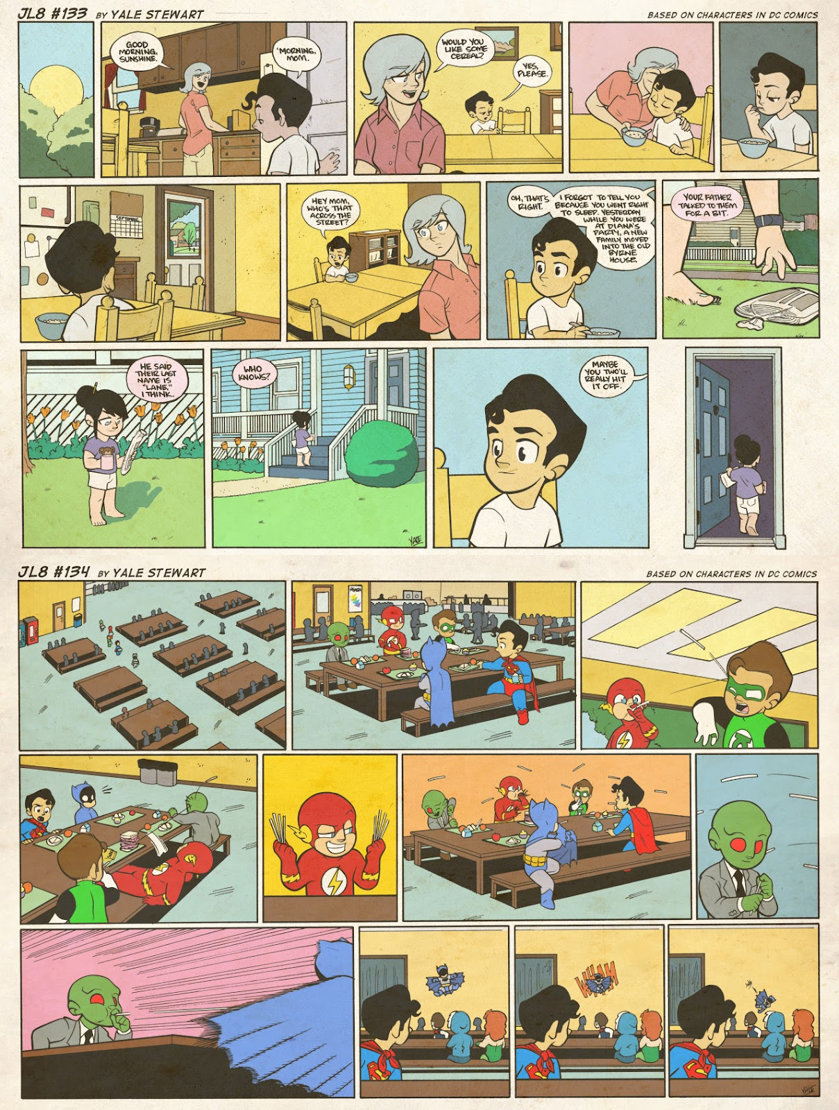 Read online JL8 – The Complete Collection comic -  Issue # TPB (Part 1) - 74