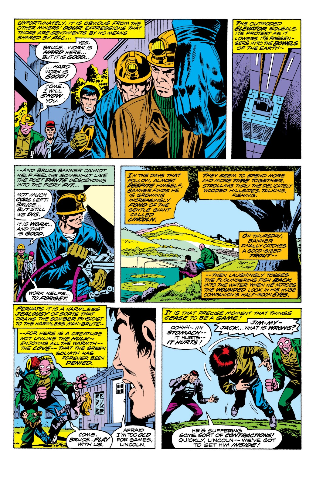 Read online Marvel Masterworks: The Incredible Hulk comic -  Issue # TPB 10 (Part 2) - 73