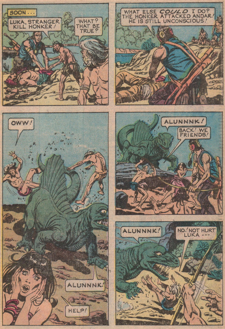 Read online Turok, Son of Stone comic -  Issue #116 - 29