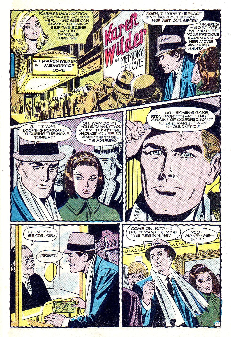 Read online Secret Hearts comic -  Issue #131 - 31