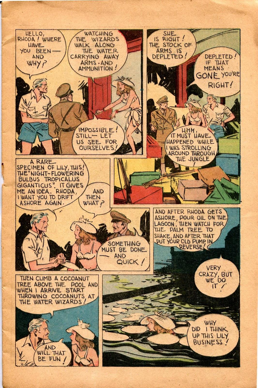 Read online Super-Magician Comics comic -  Issue #34 - 11