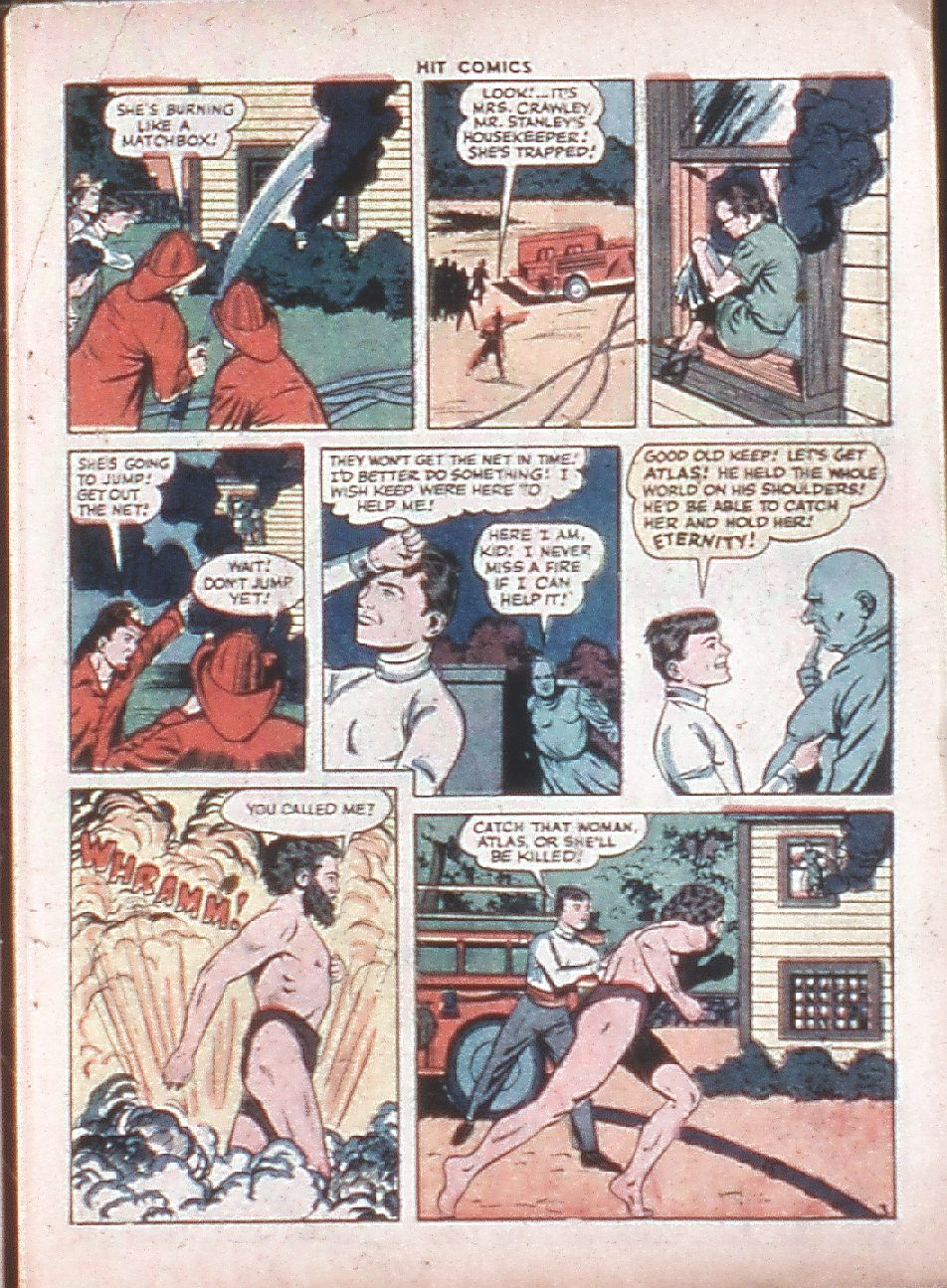 Read online Hit Comics comic -  Issue #36 - 5