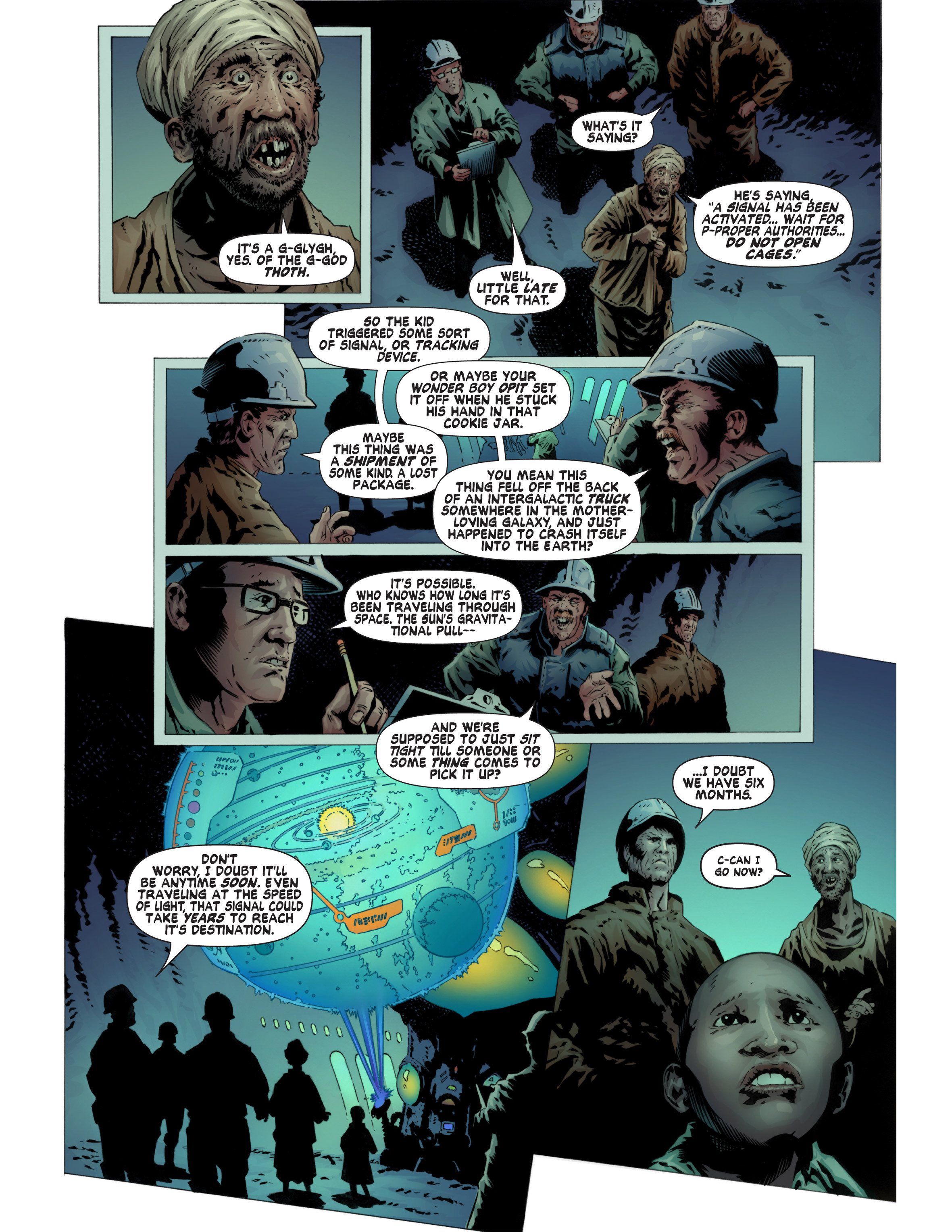 Read online Bad Planet comic -  Issue # TPB - 50