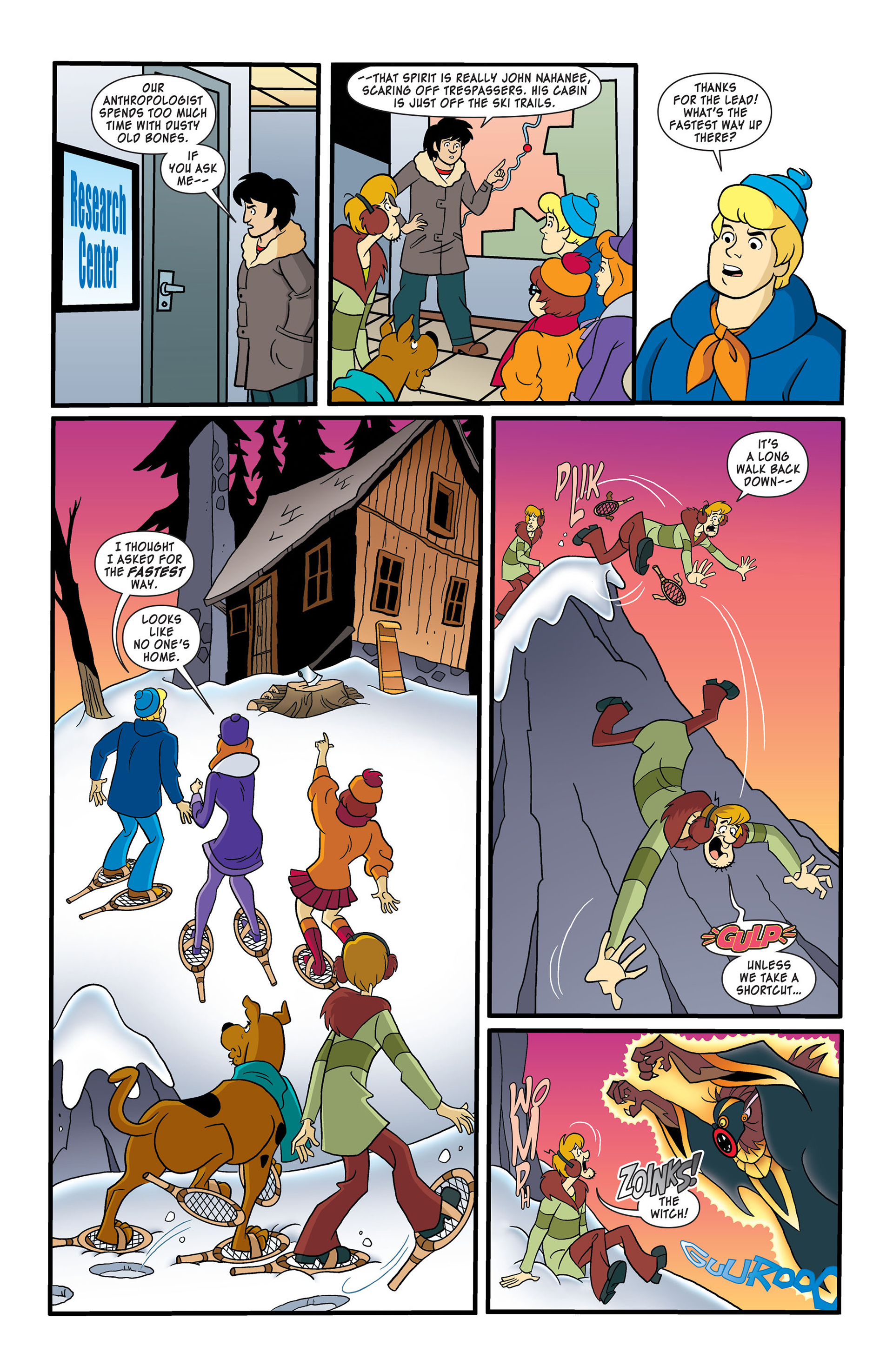 Read online Scooby-Doo: Where Are You? comic -  Issue #50 - 6