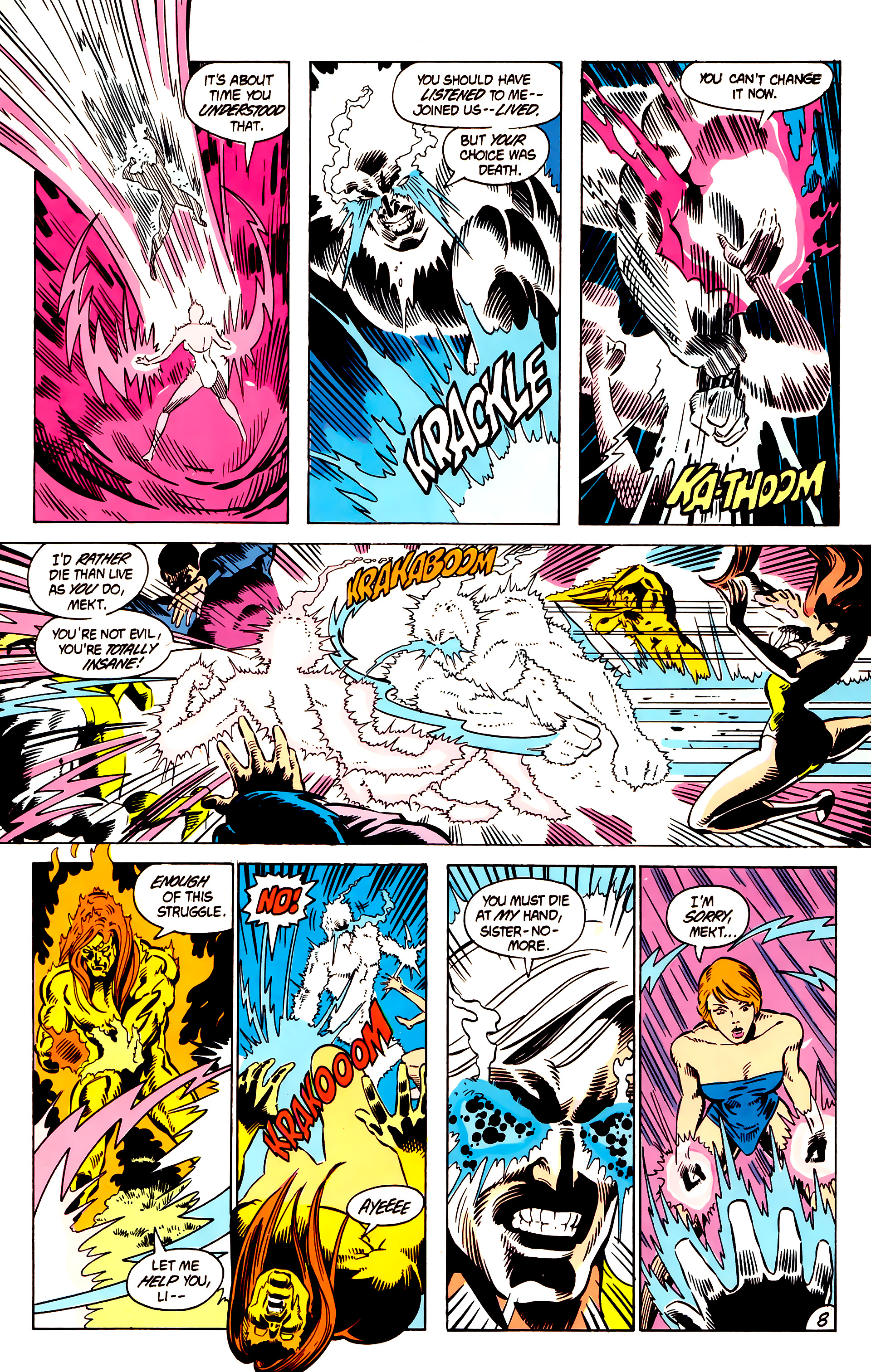 Legion of Super-Heroes (1984) 5 Page 9