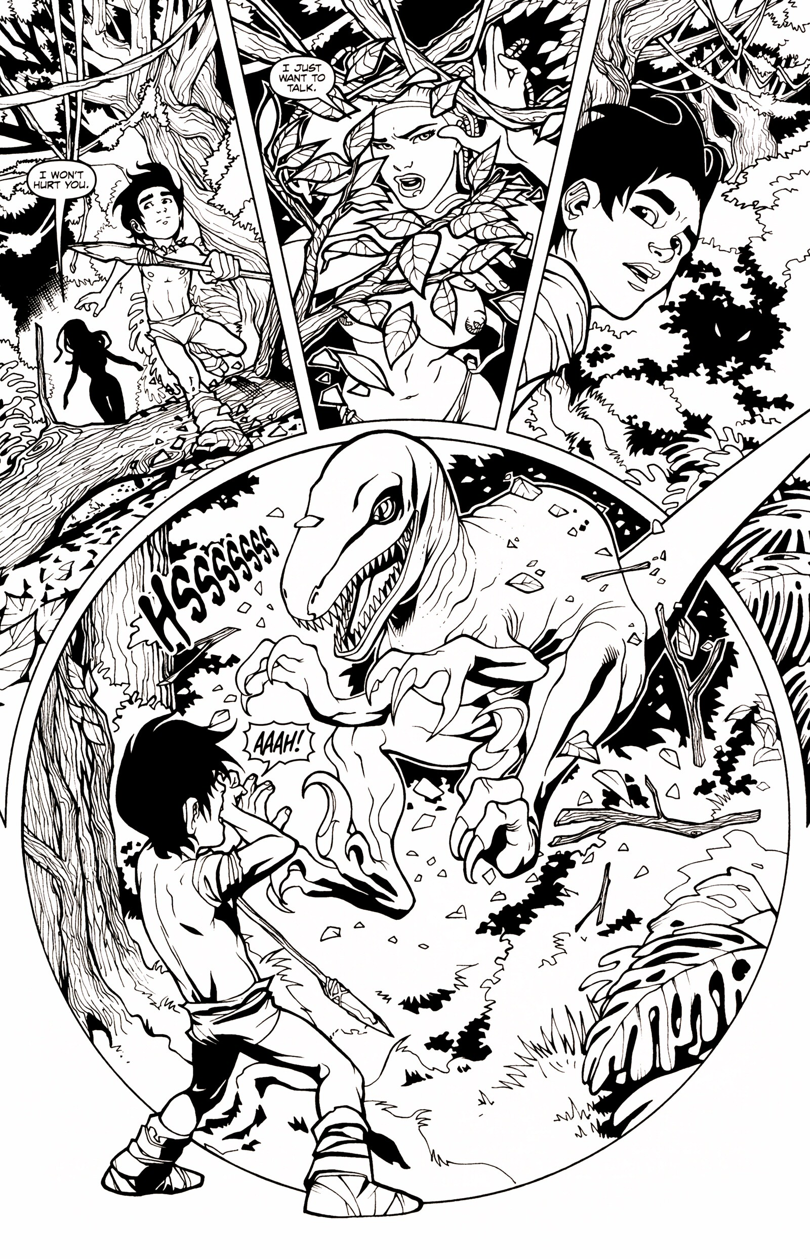 Read online Jungle Fantasy (2002) comic -  Issue # _Annual 1 - 4