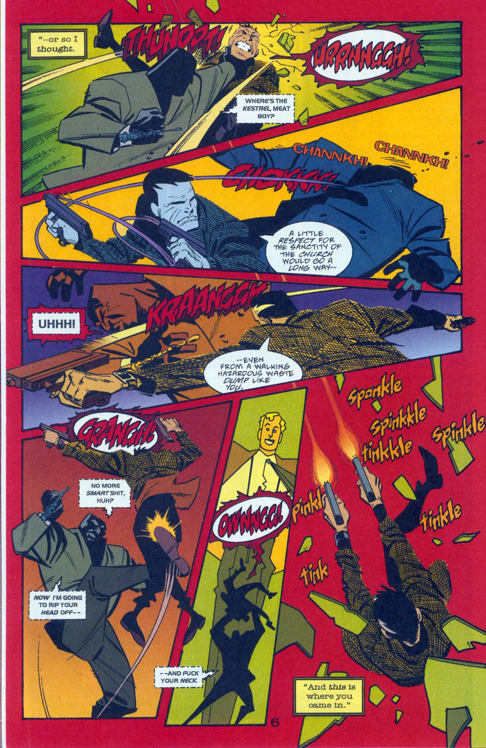 Read online Pulp Fantastic comic -  Issue #3 - 9