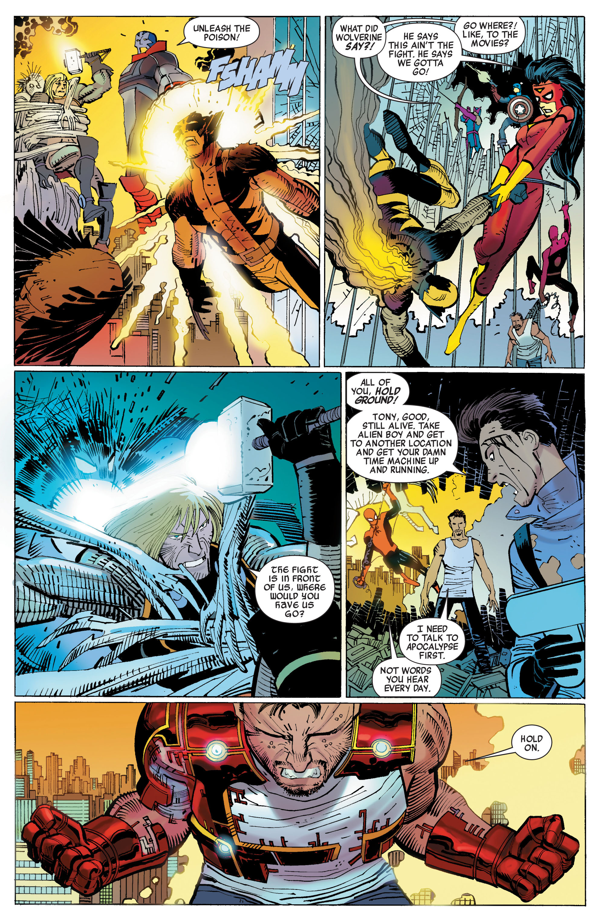 Read online Avengers (2010) comic -  Issue #3 - 12