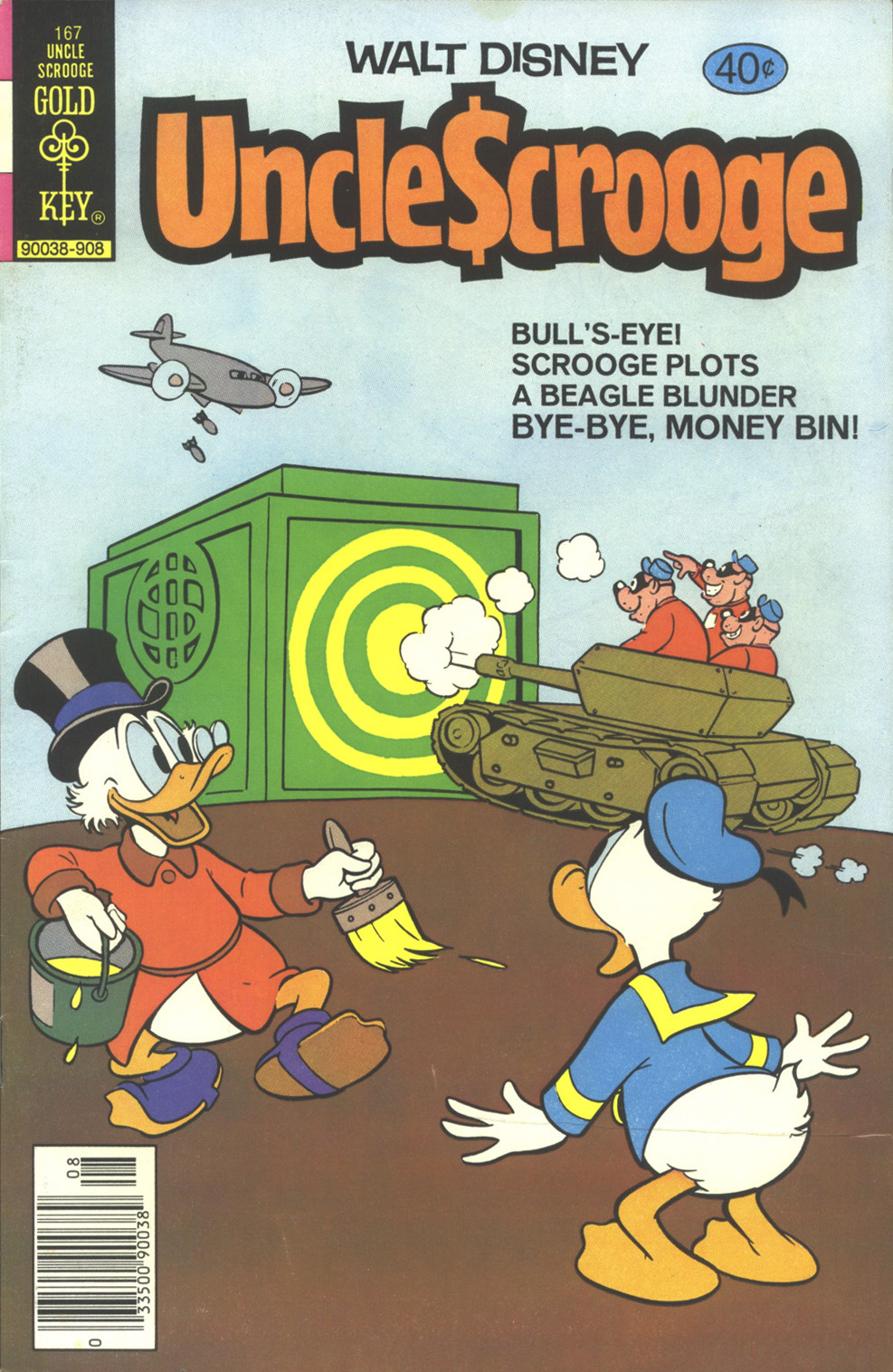 Read online Uncle Scrooge (1953) comic -  Issue #167 - 1