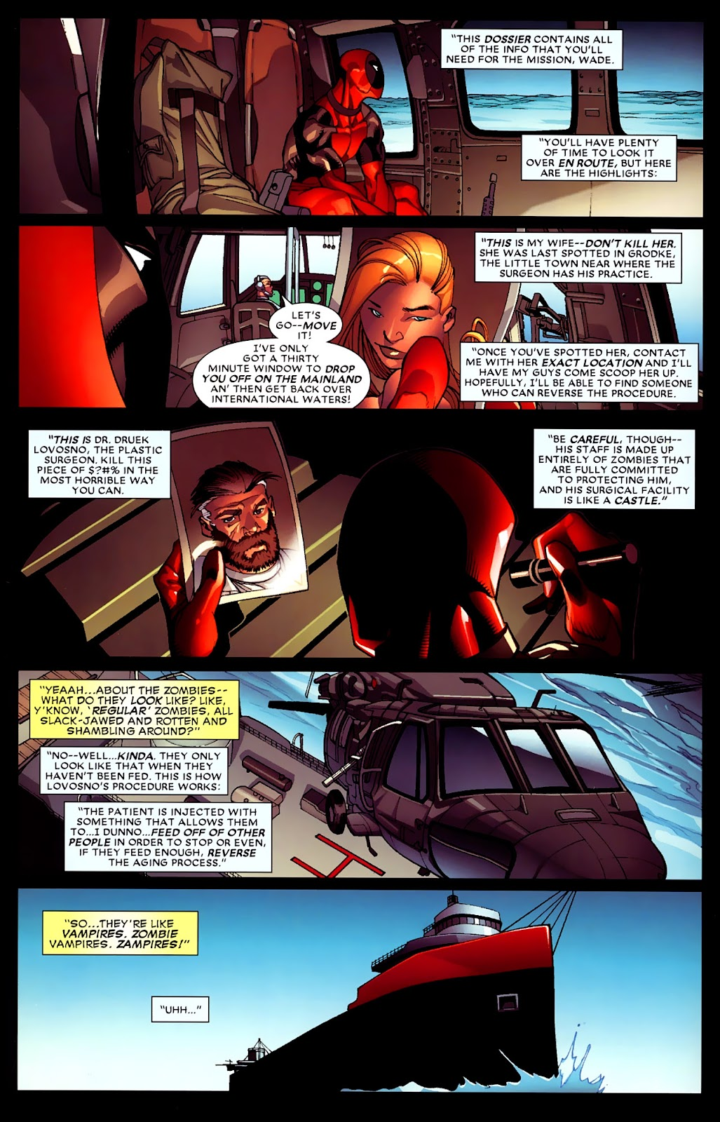 Read online Deadpool (2008) comic -  Issue #4 - 12