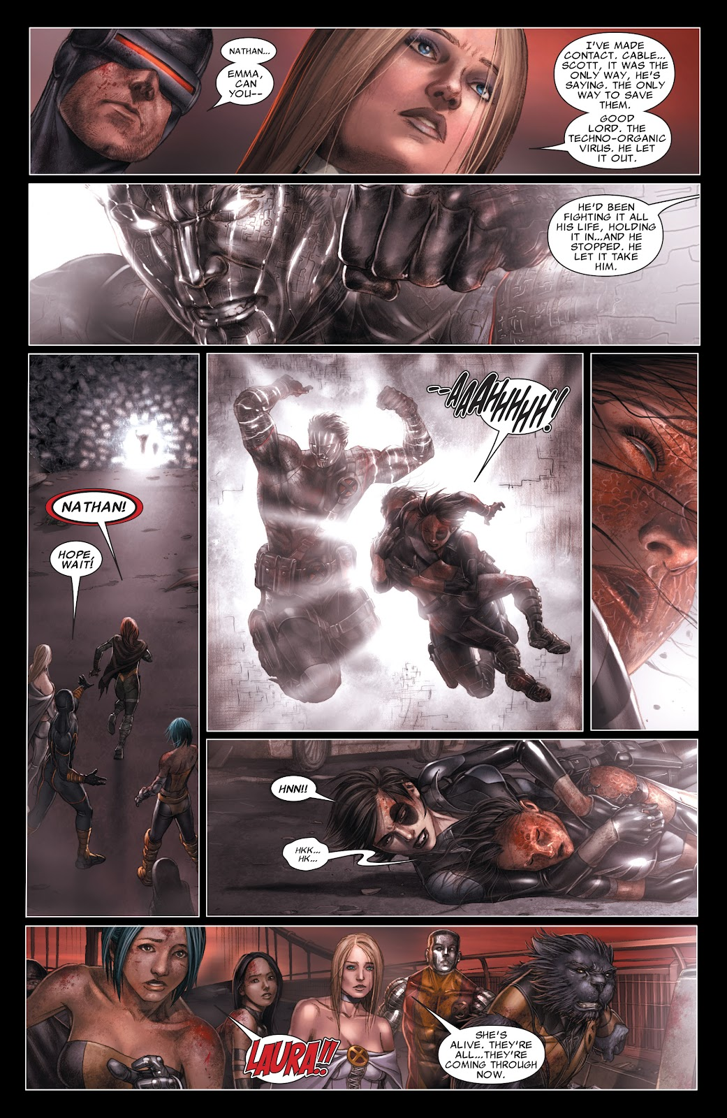 Read online X-Men: Second Coming comic -  Issue # _TPB (Part 3) - 99